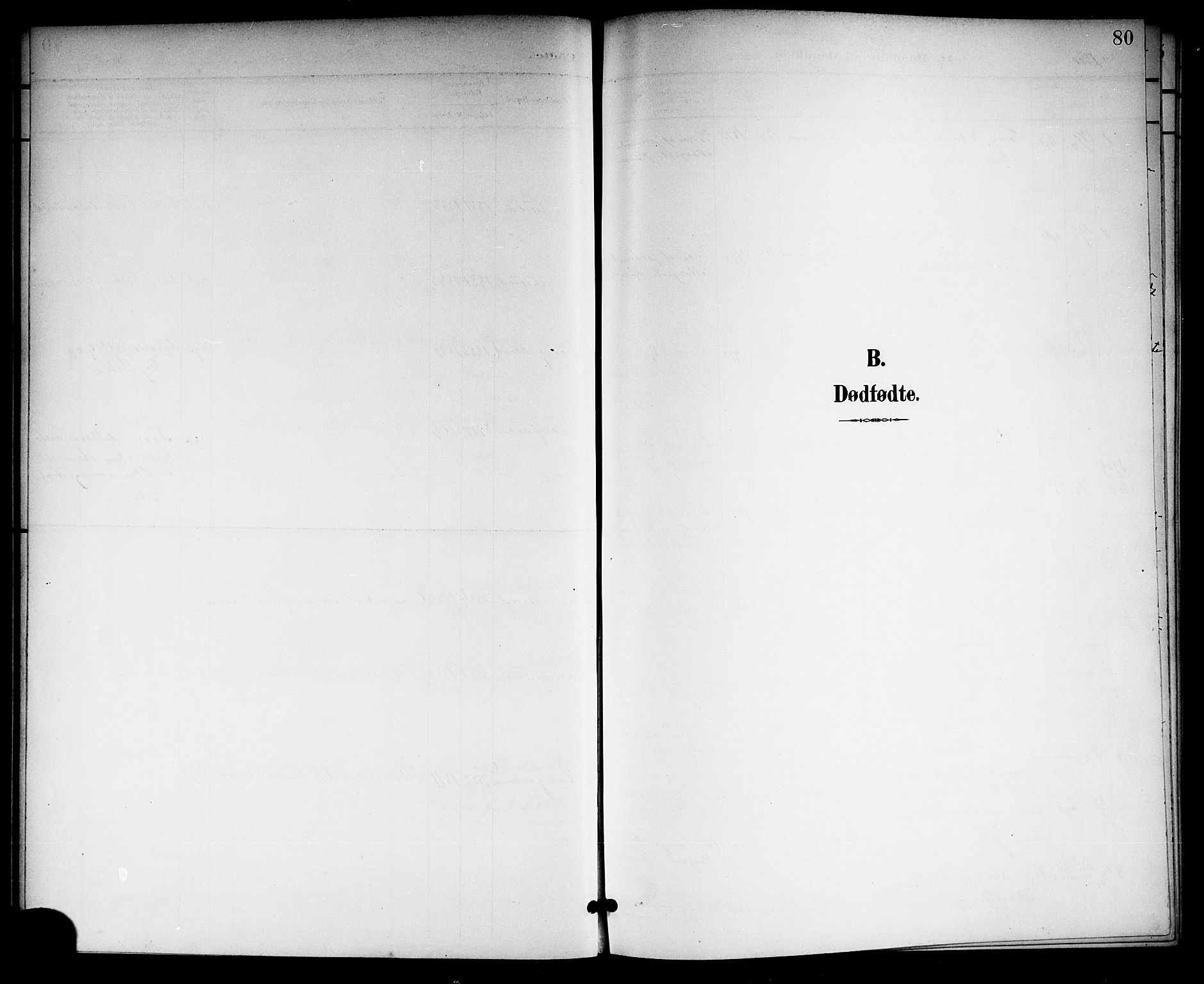 SAKO, Langesund kirkebøker, G/Ga/L0006: Klokkerbok nr. 6, 1899-1918, s. 80