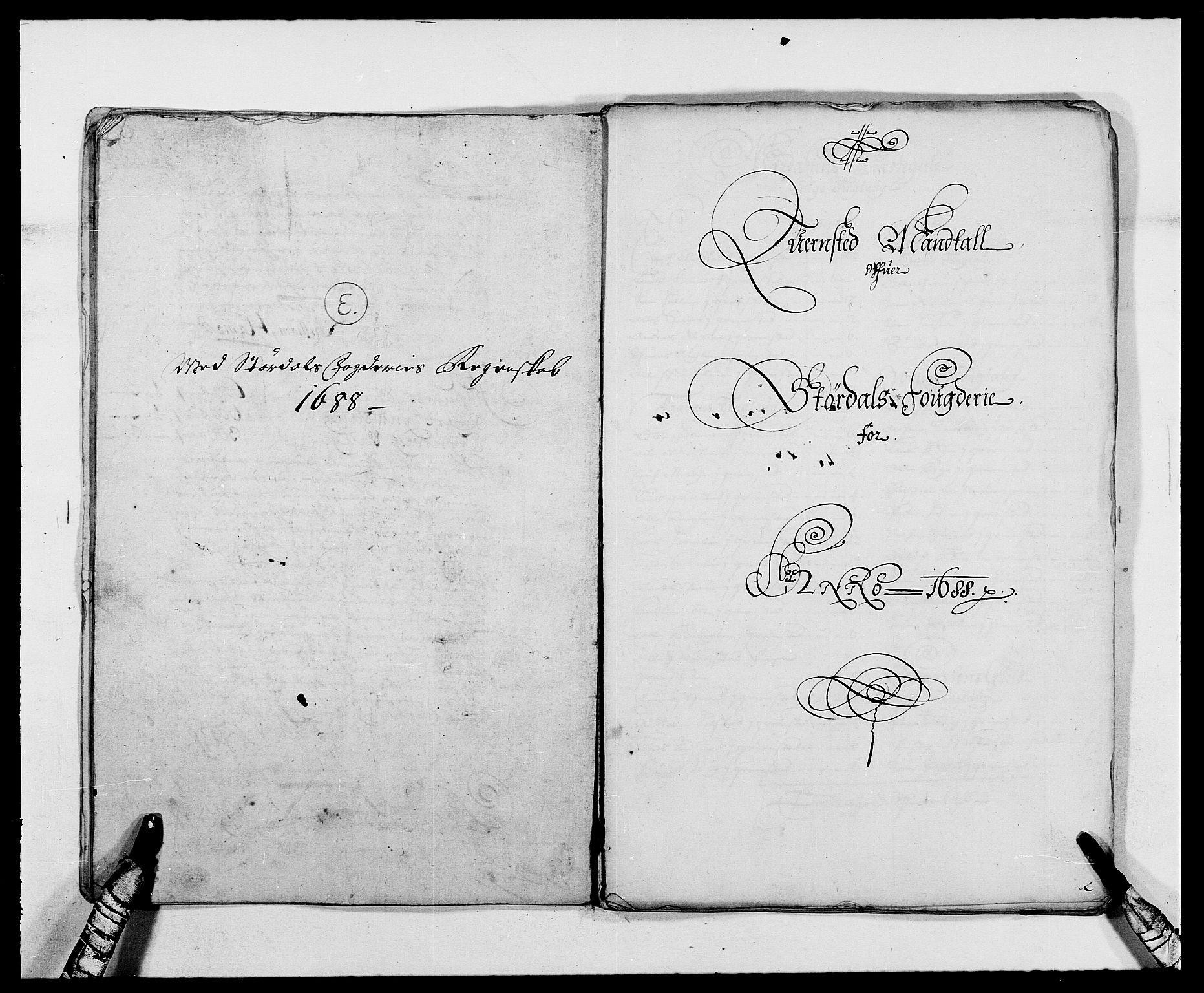 RA, Rentekammeret inntil 1814, Reviderte regnskaper, Fogderegnskap, R62/L4183: Fogderegnskap Stjørdal og Verdal, 1687-1689, s. 215