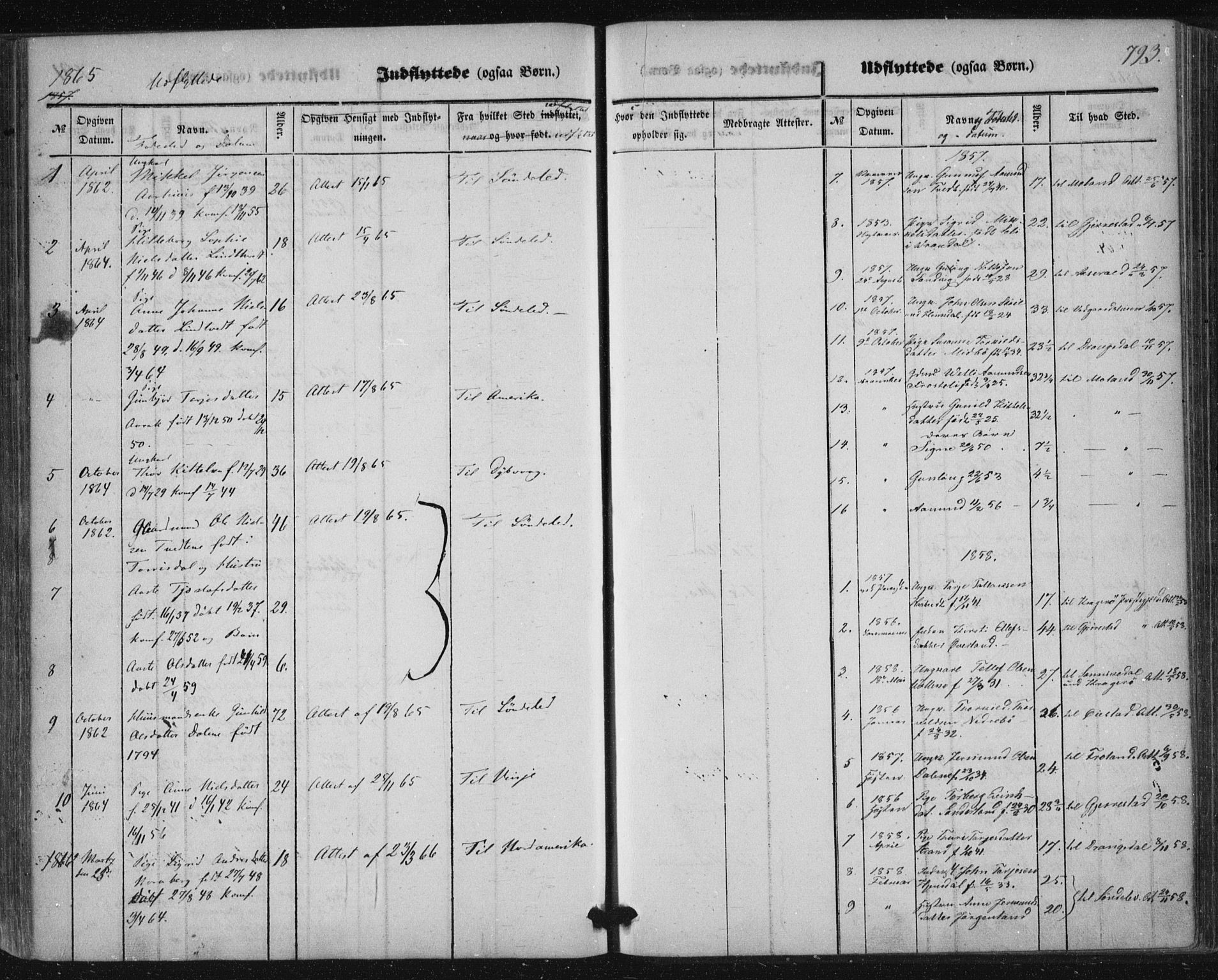 SAKO, Nissedal kirkebøker, F/Fa/L0003: Ministerialbok nr. I 3, 1846-1870, s. 792-793