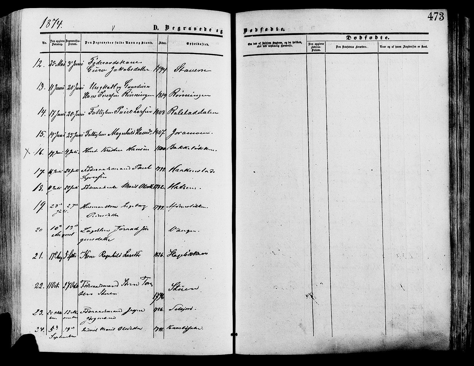 SAH, Lesja prestekontor, Ministerialbok nr. 8, 1854-1880, s. 473