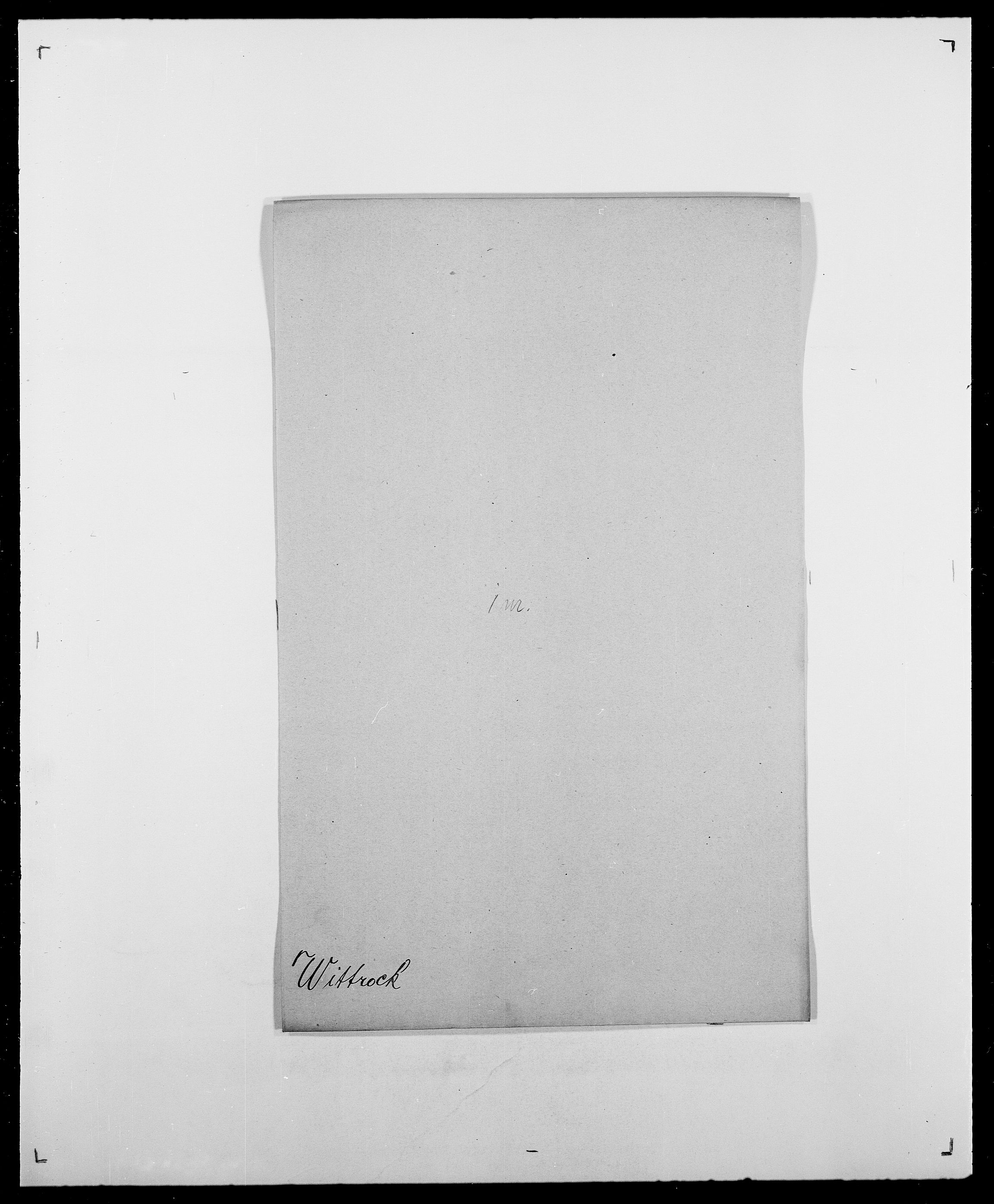 SAO, Delgobe, Charles Antoine - samling, D/Da/L0042: Vilain - Wulf, Wulff, se også Wolf, s. 497