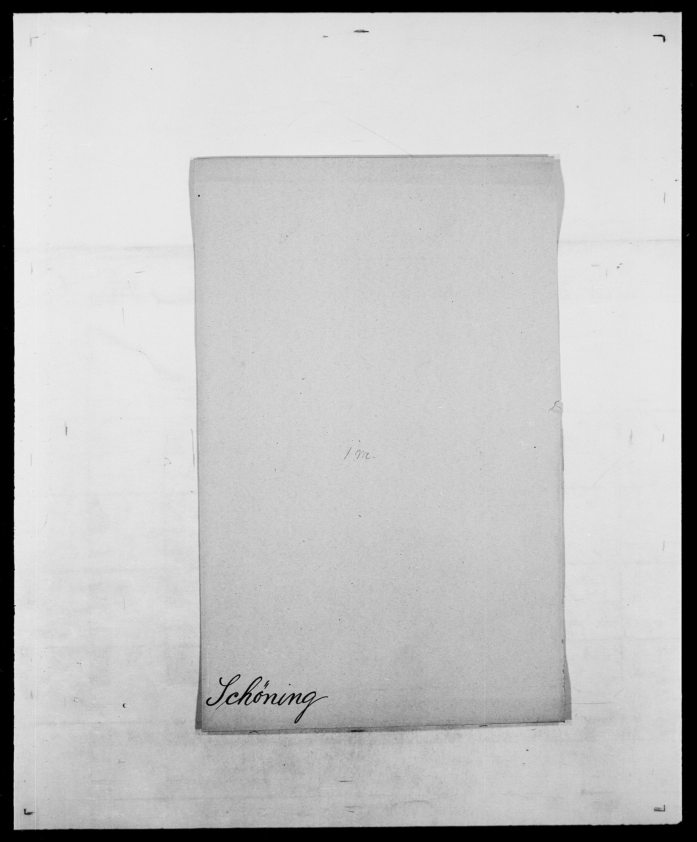 SAO, Delgobe, Charles Antoine - samling, D/Da/L0035: Schnabel - sjetman, s. 496
