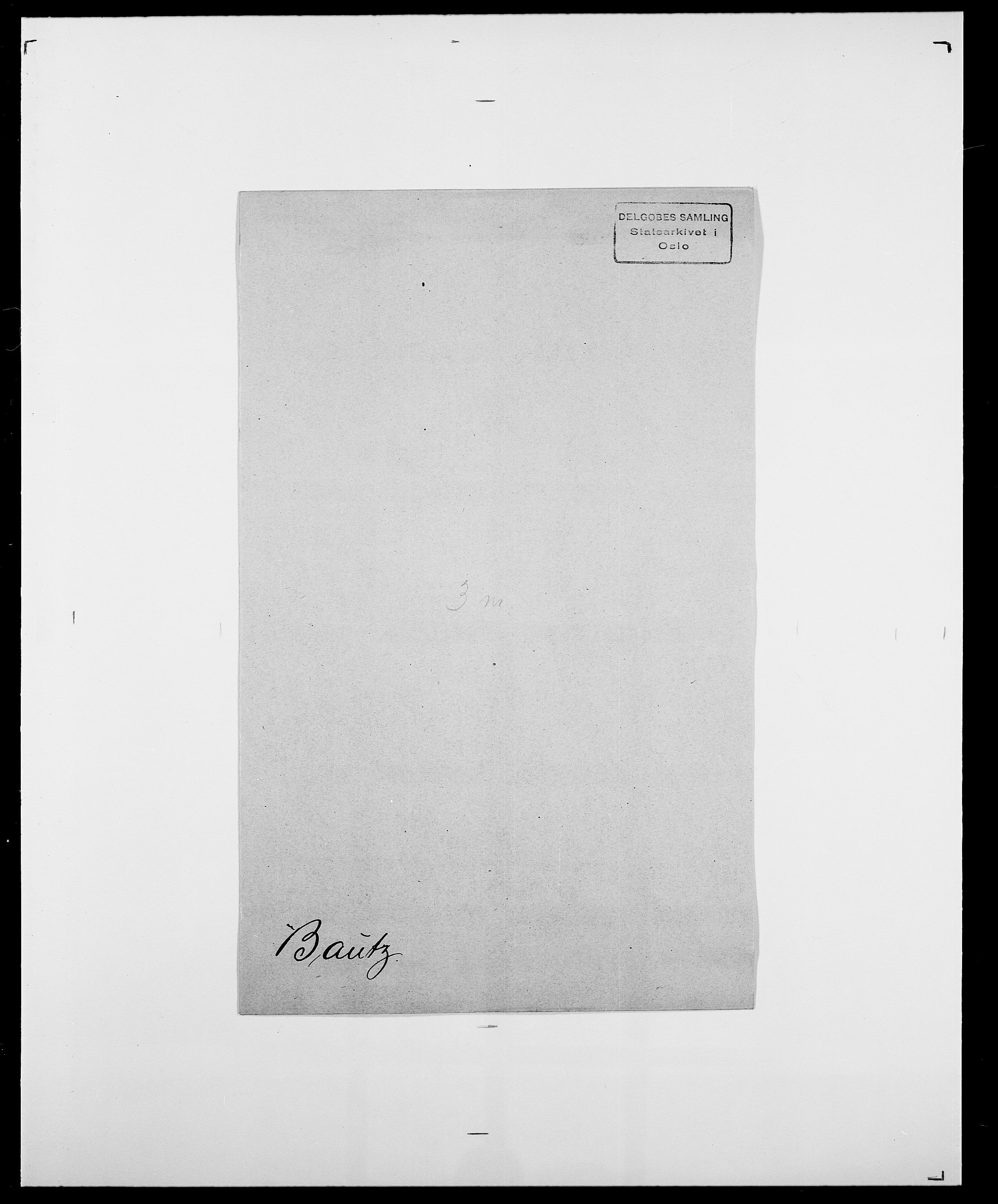 SAO, Delgobe, Charles Antoine - samling, D/Da/L0003: Barca - Bergen, s. 470