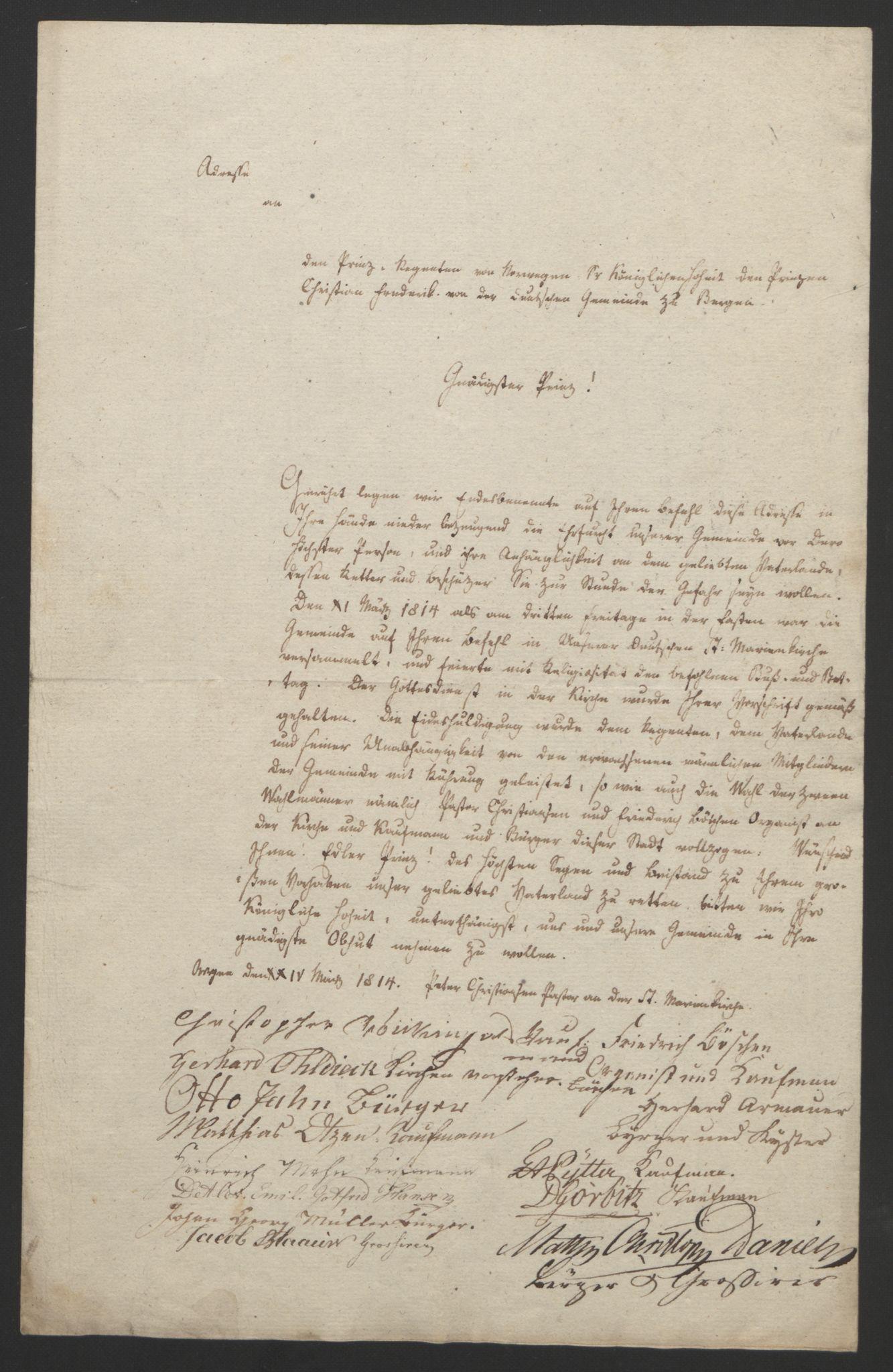RA, Statsrådssekretariatet, D/Db/L0007: Fullmakter for Eidsvollsrepresentantene i 1814. , 1814, s. 50