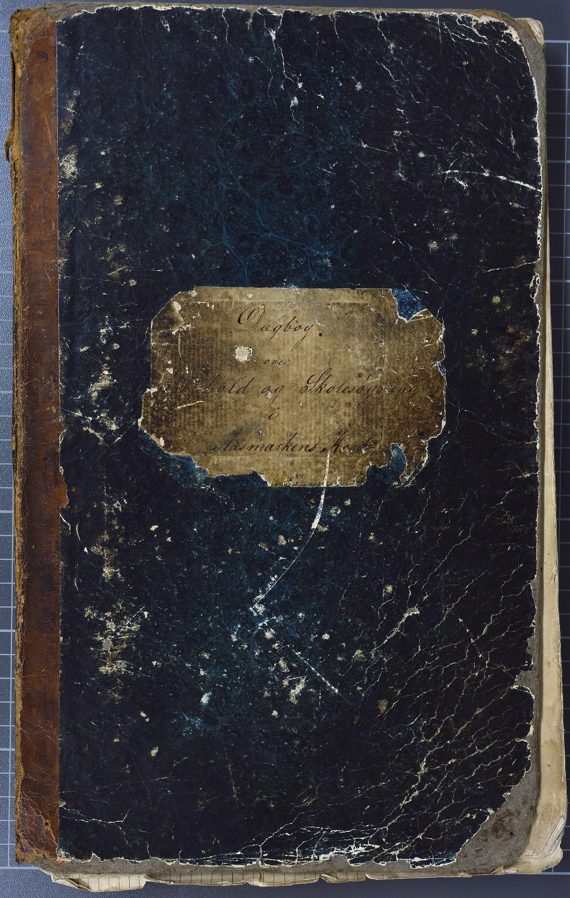 KVT, Vestre Toten kommunearkiv: Skoleprotokoll for Åsmarken skolekrets 1863-1898 i Vestre Toten kommune, 1863-1898