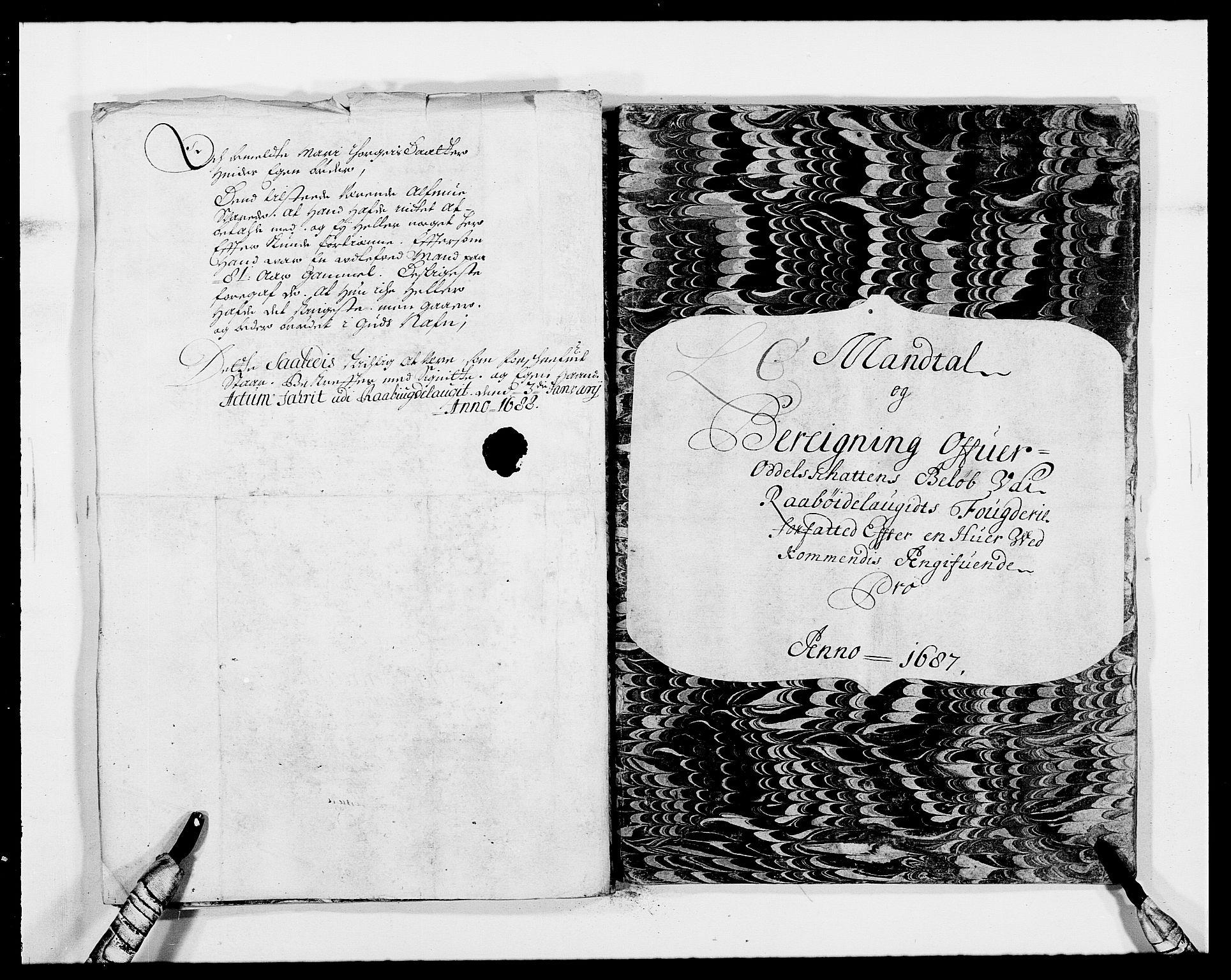 RA, Rentekammeret inntil 1814, Reviderte regnskaper, Fogderegnskap, R40/L2440: Fogderegnskap Råbyggelag, 1686-1687, s. 154