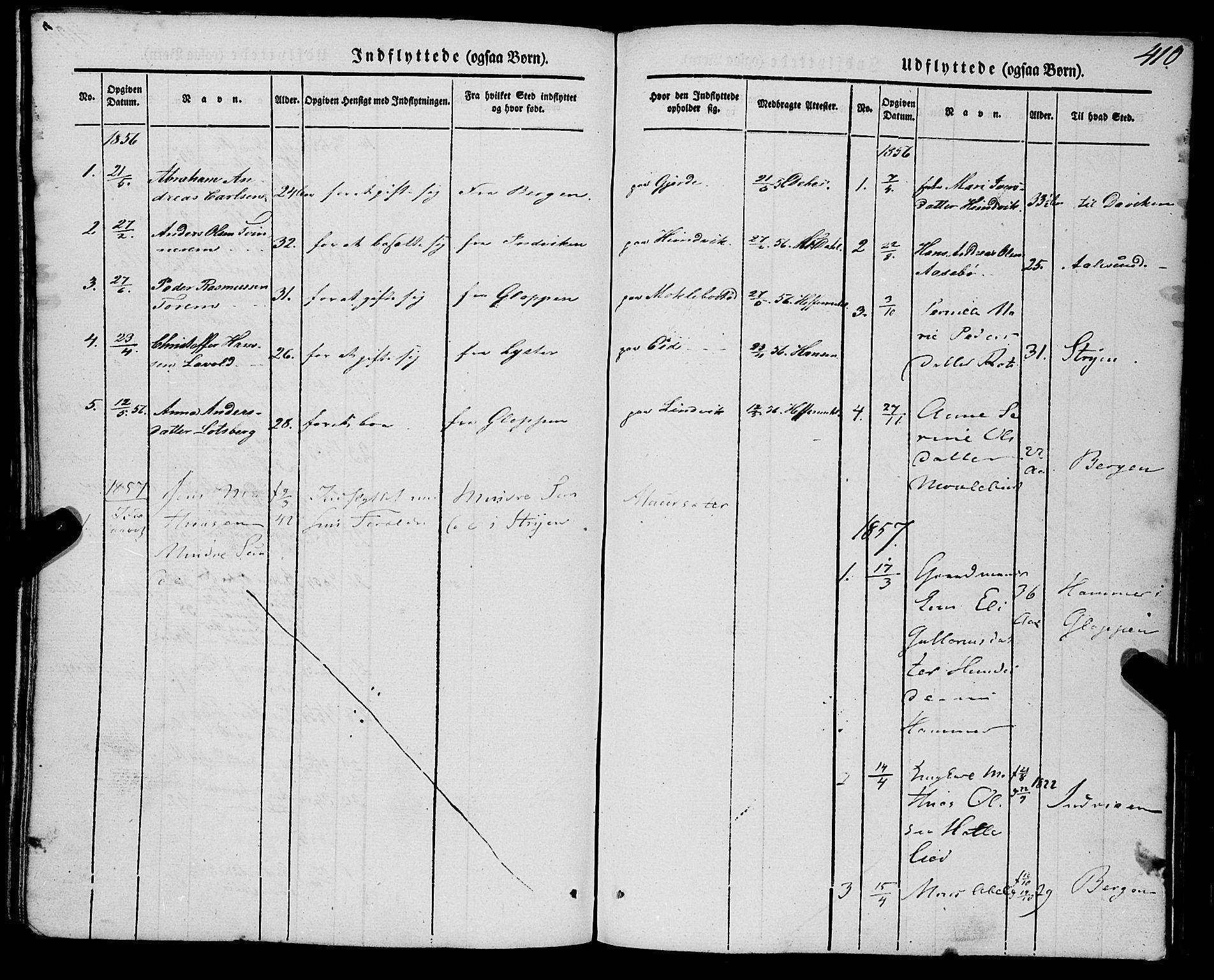 SAB, Eid Sokneprestembete, H/Haa: Ministerialbok nr. A 7, 1844-1858, s. 410