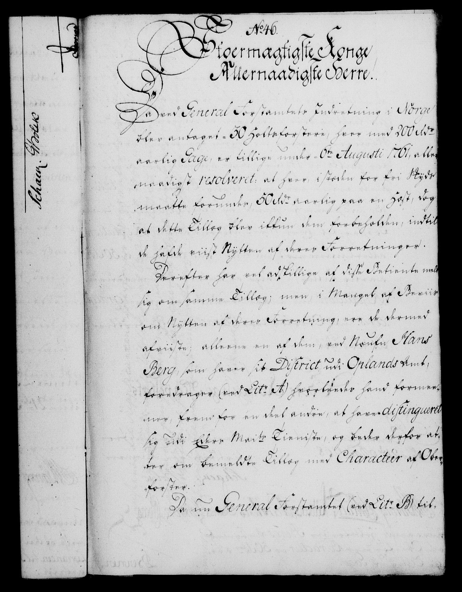 RA, Rentekammeret, Kammerkanselliet, G/Gf/Gfa/L0050: Norsk relasjons- og resolusjonsprotokoll (merket RK 52.50), 1768, s. 203