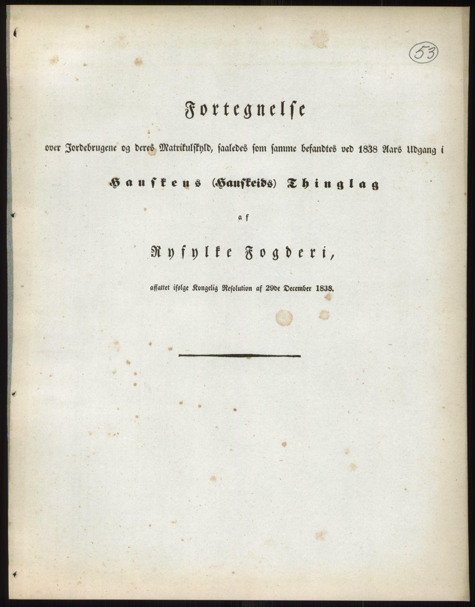 RA, 1838-matrikkelen (publikasjon)*, 1838, s. 53