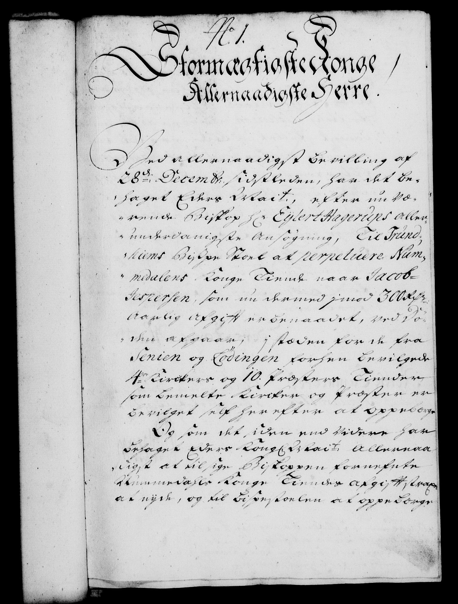 RA, Rentekammeret, Kammerkanselliet, G/Gf/Gfa/L0015: Norsk relasjons- og resolusjonsprotokoll (merket RK 52.15), 1732, s. 28