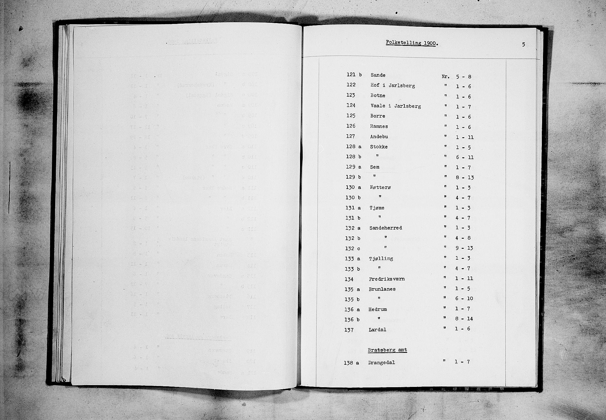 RA, Folketelling 1900 for 0714 Hof herred, 1900, s. 19
