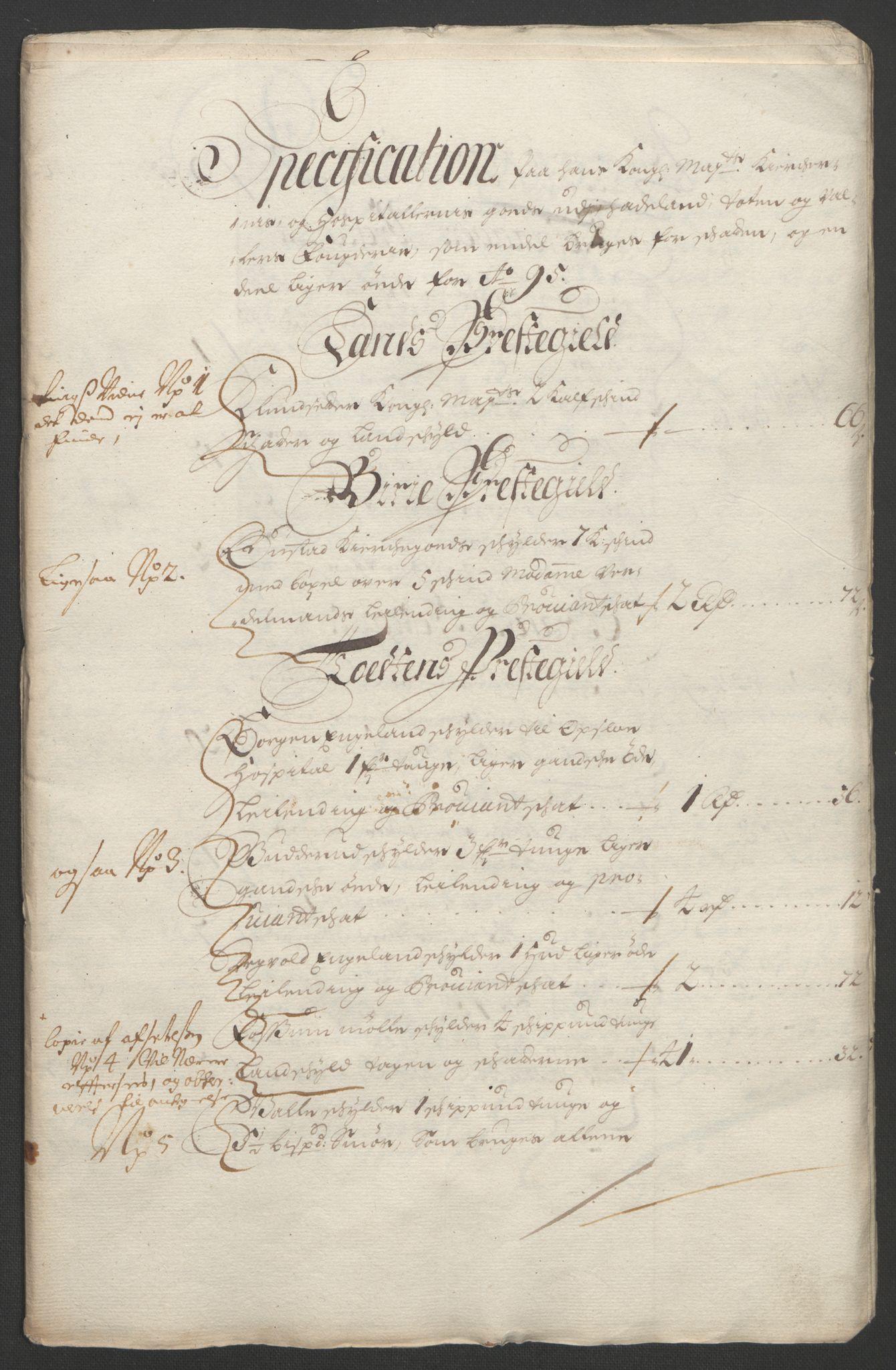 RA, Rentekammeret inntil 1814, Reviderte regnskaper, Fogderegnskap, R18/L1293: Fogderegnskap Hadeland, Toten og Valdres, 1695, s. 174