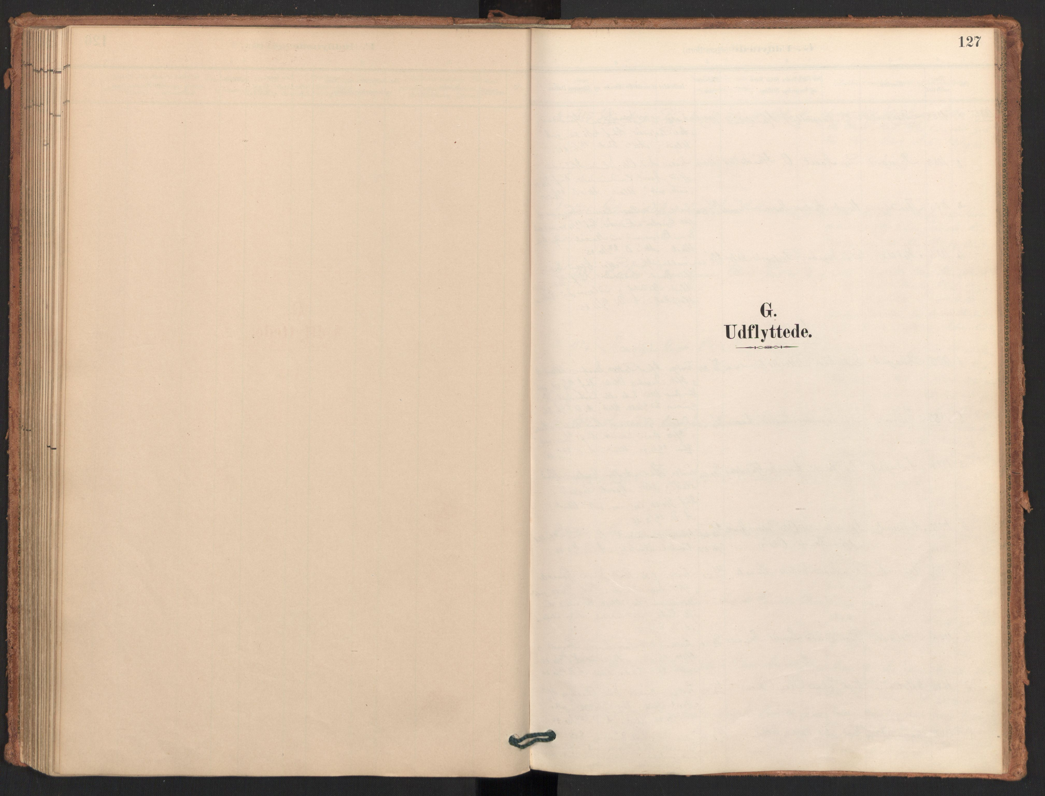 SAT, Ministerialprotokoller, klokkerbøker og fødselsregistre - Møre og Romsdal, 596/L1056: Ministerialbok nr. 596A01, 1885-1900, s. 127