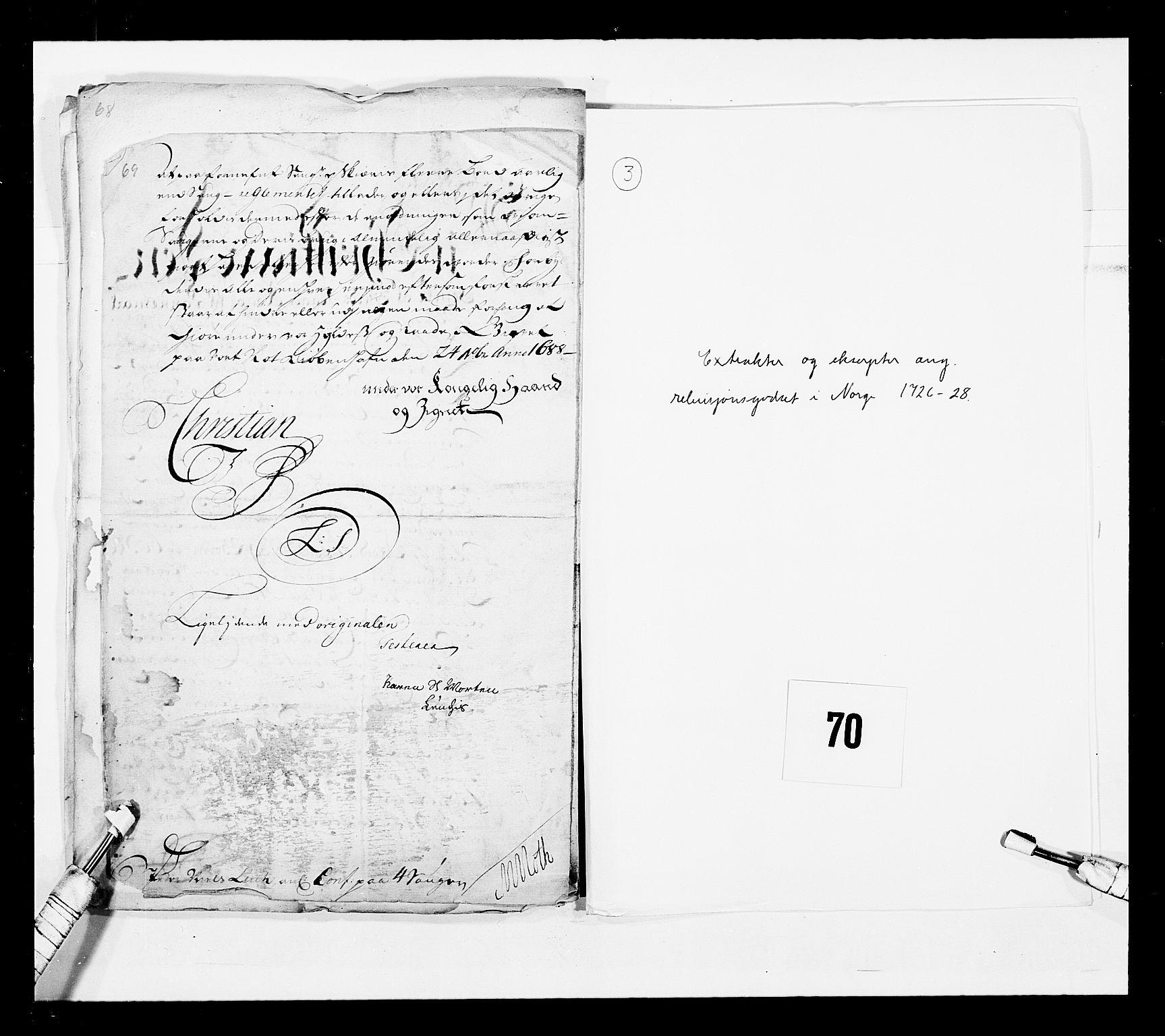 RA, Stattholderembetet 1572-1771, Ek/L0043: Jordebøker o.a. 1720-1728 vedkommende krongodset:, 1724-1728, s. 195