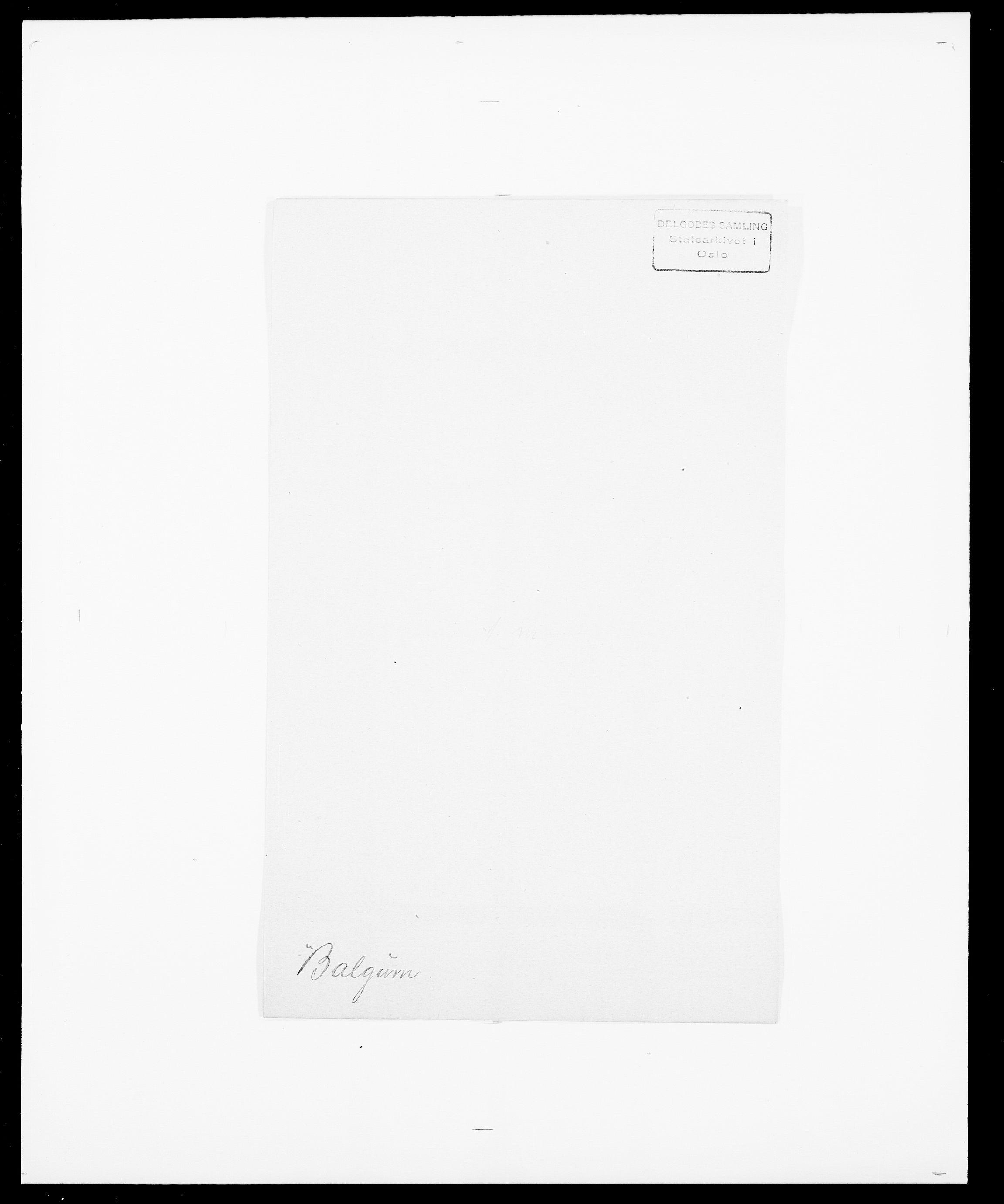 SAO, Delgobe, Charles Antoine - samling, D/Da/L0003: Barca - Bergen, s. 168