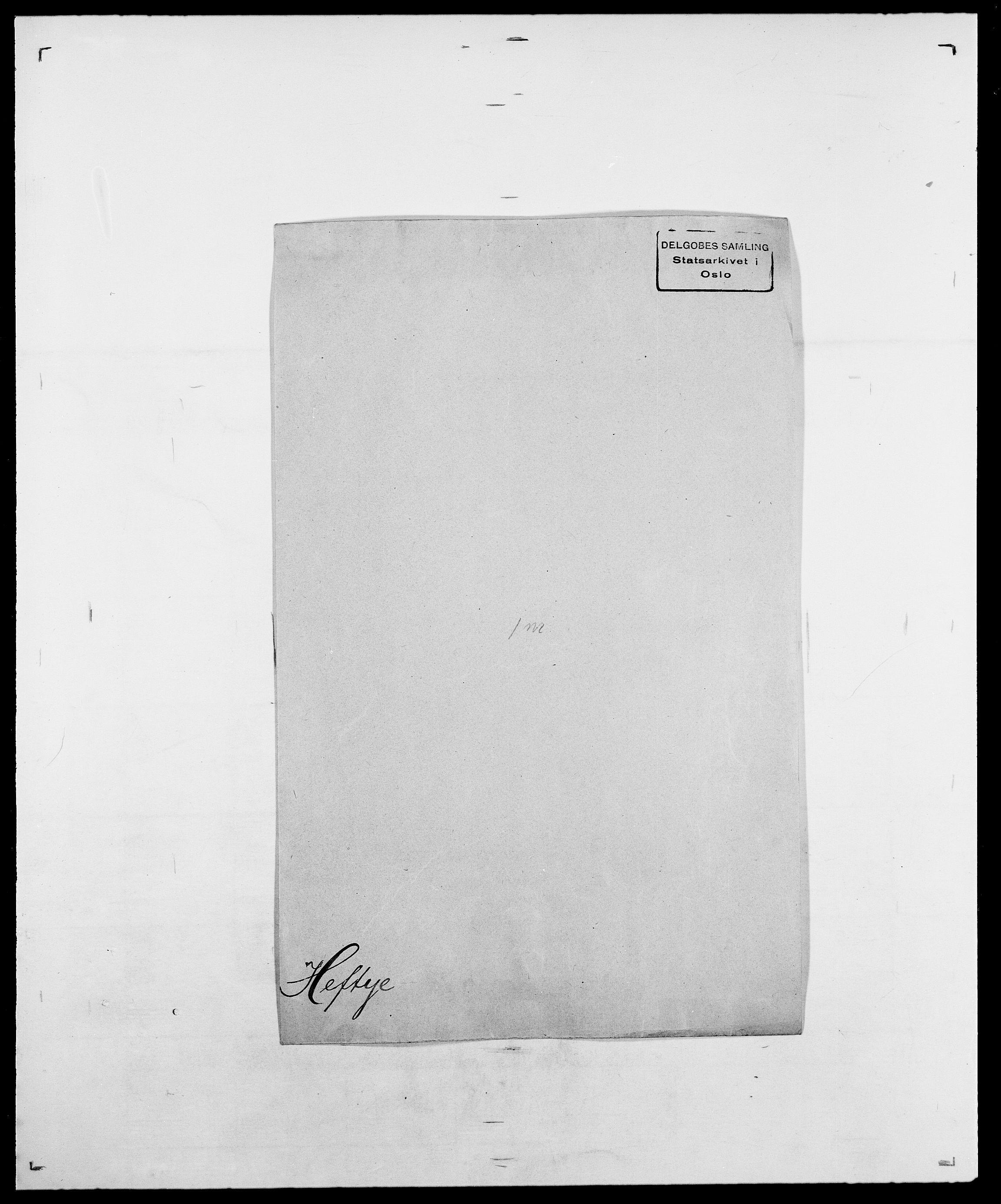SAO, Delgobe, Charles Antoine - samling, D/Da/L0016: Hamborg - Hektoen, s. 709