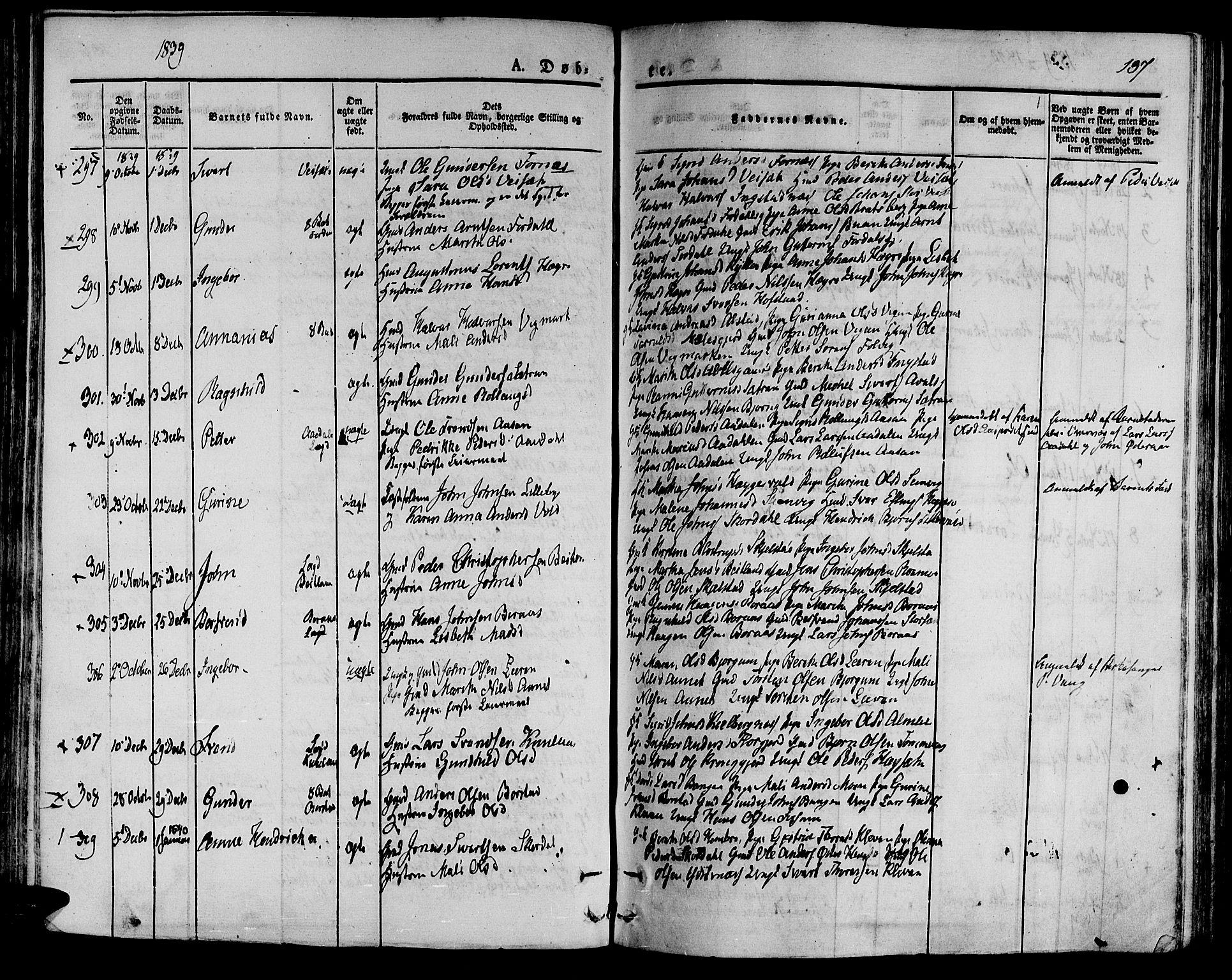 SAT, Ministerialprotokoller, klokkerbøker og fødselsregistre - Nord-Trøndelag, 709/L0071: Ministerialbok nr. 709A11, 1833-1844, s. 137