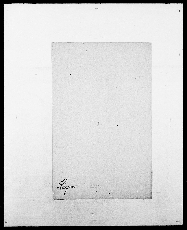 SAO, Delgobe, Charles Antoine - samling, D/Da/L0033: Roald - Røyem, s. 822