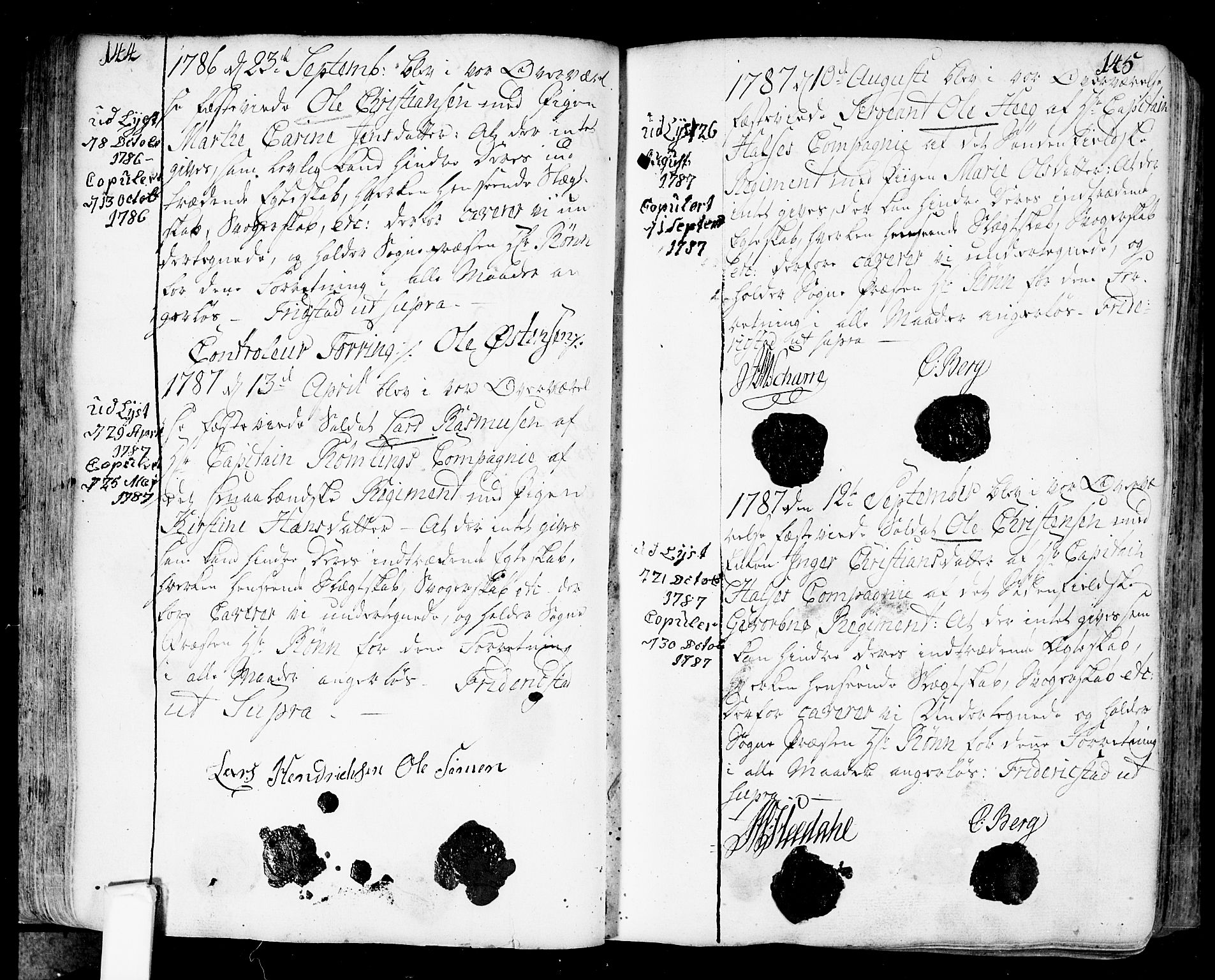 SAO, Fredrikstad prestekontor Kirkebøker, F/Fa/L0002: Ministerialbok nr. 2, 1750-1804, s. 144-145