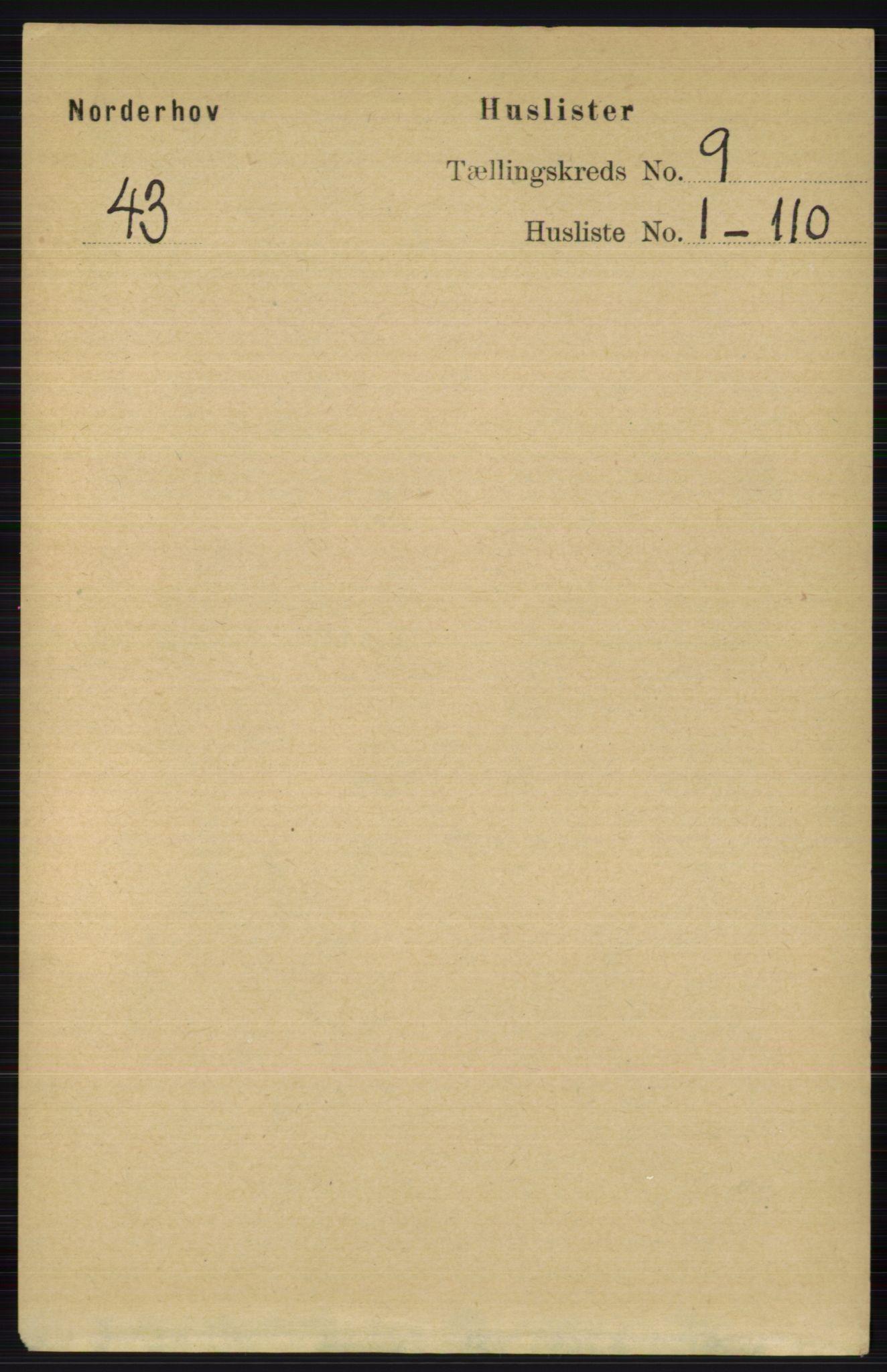 RA, Folketelling 1891 for 0613 Norderhov herred, 1891, s. 6482