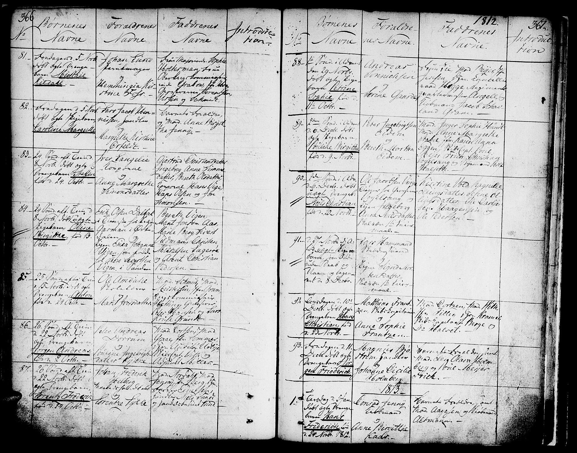 SAT, Ministerialprotokoller, klokkerbøker og fødselsregistre - Sør-Trøndelag, 602/L0104: Ministerialbok nr. 602A02, 1774-1814, s. 366-367