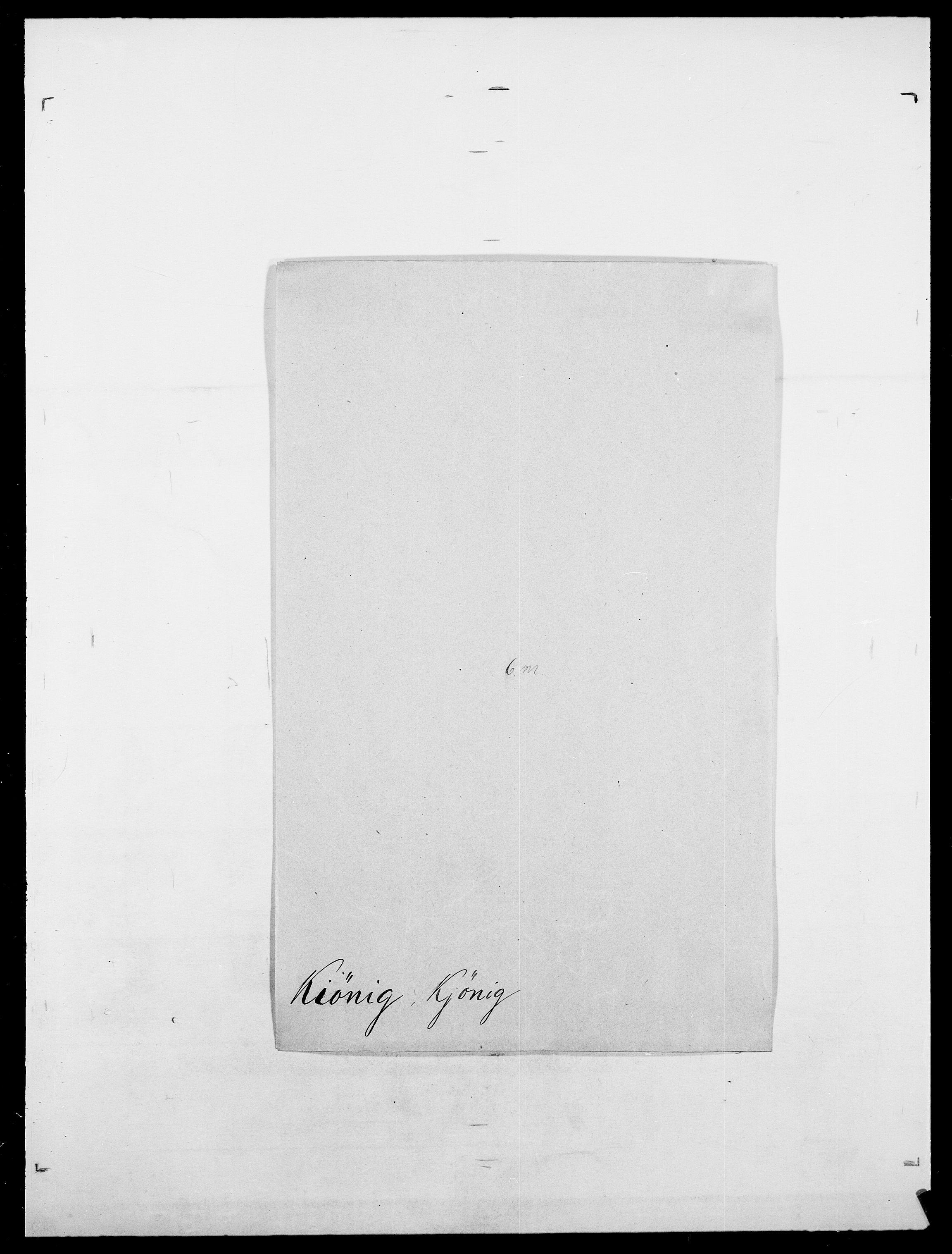 SAO, Delgobe, Charles Antoine - samling, D/Da/L0020: Irgens - Kjøsterud, s. 695