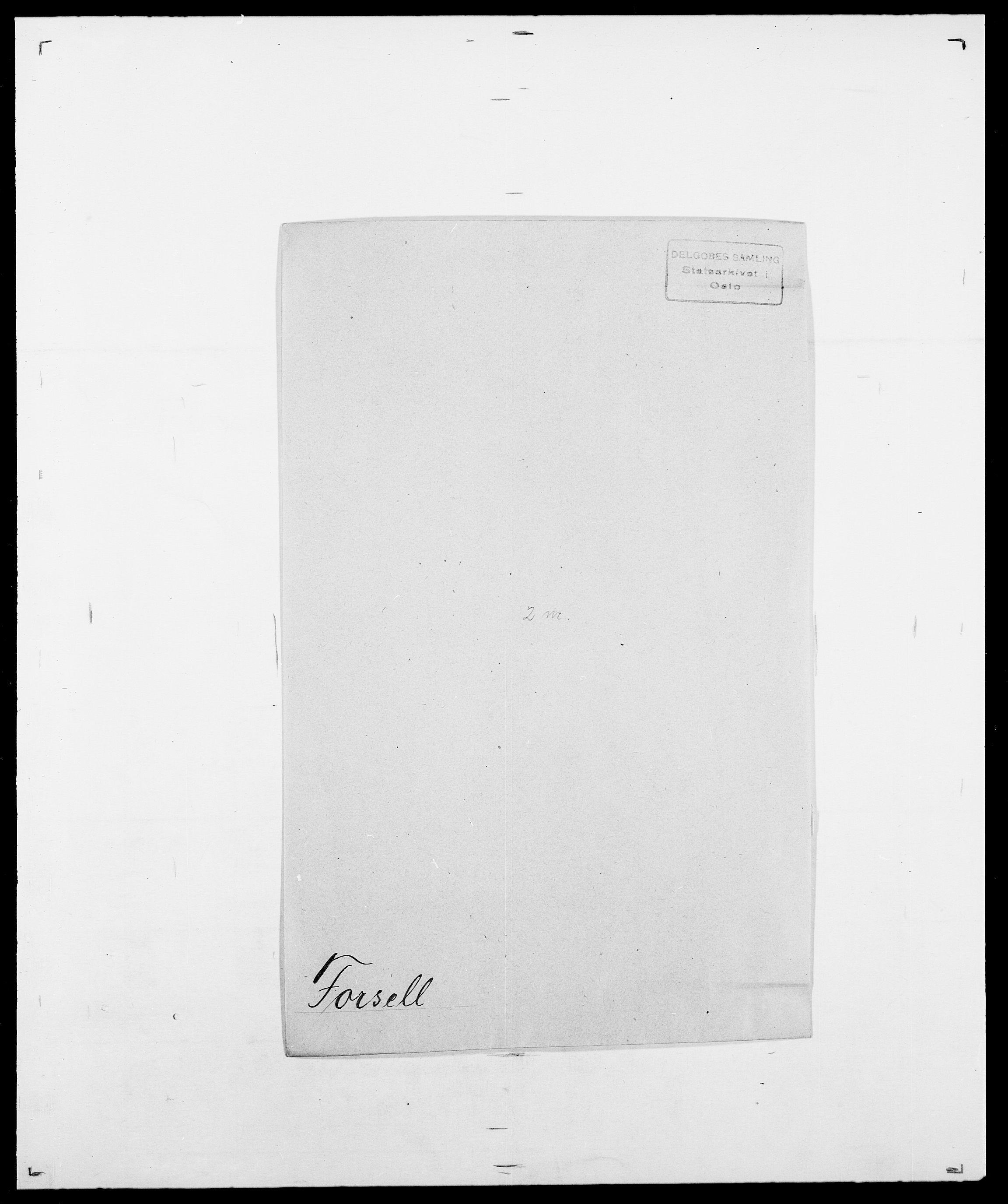SAO, Delgobe, Charles Antoine - samling, D/Da/L0012: Flor, Floer, Flohr - Fritzner, s. 603