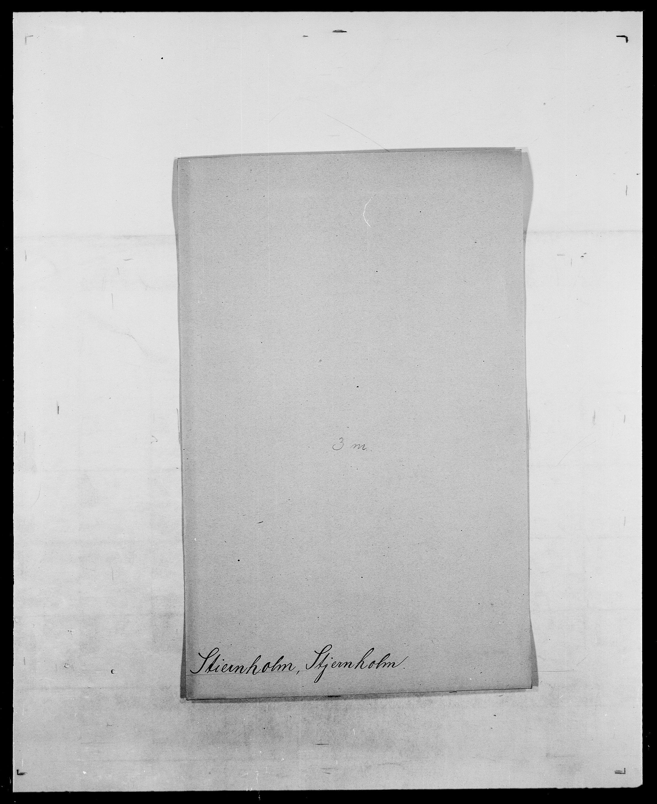 SAO, Delgobe, Charles Antoine - samling, D/Da/L0037: Steen, Sthen, Stein - Svare, Svanige, Svanne, se også Svanning og Schwane, s. 381