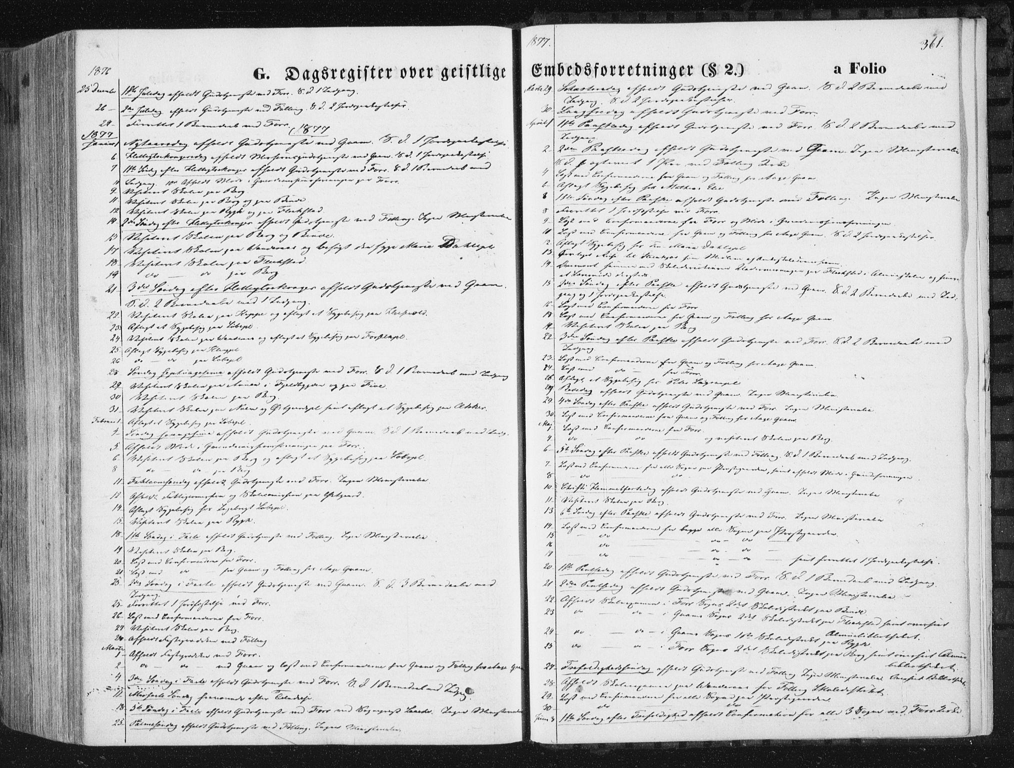 SAT, Ministerialprotokoller, klokkerbøker og fødselsregistre - Nord-Trøndelag, 746/L0447: Ministerialbok nr. 746A06, 1860-1877, s. 361