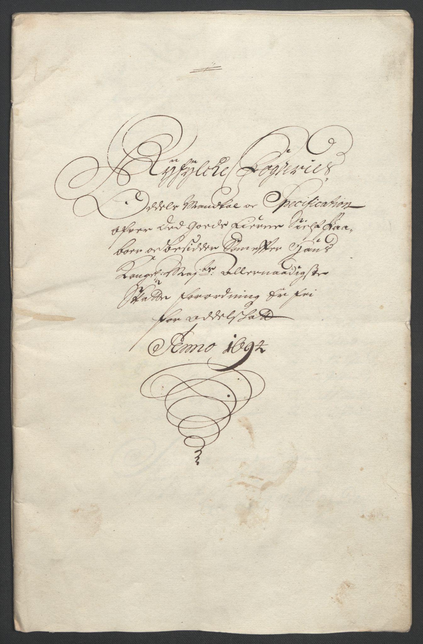 RA, Rentekammeret inntil 1814, Reviderte regnskaper, Fogderegnskap, R47/L2857: Fogderegnskap Ryfylke, 1694-1696, s. 58