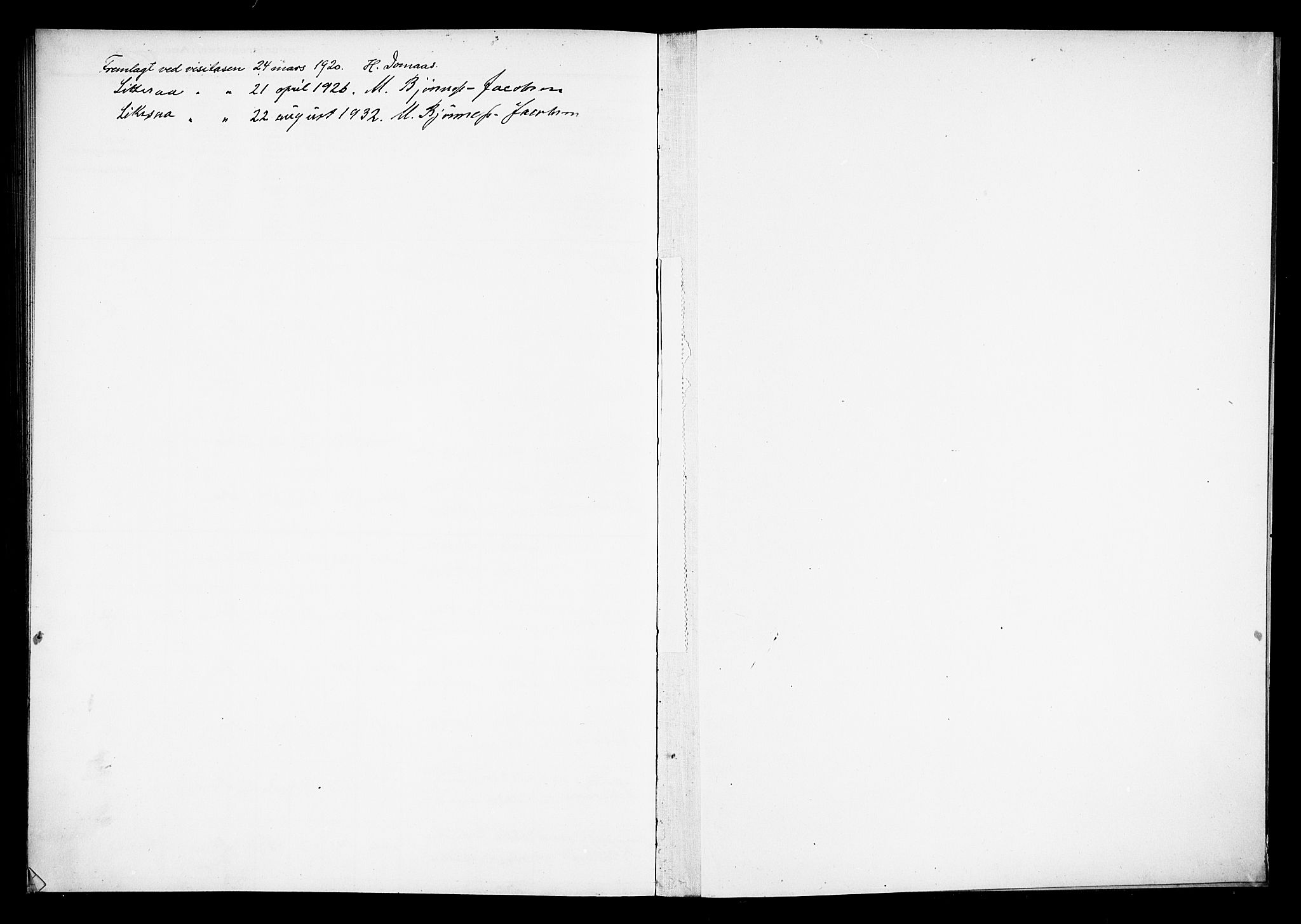 SAH, Østre Toten prestekontor, Fødselsregister nr. 15, 1916-1928