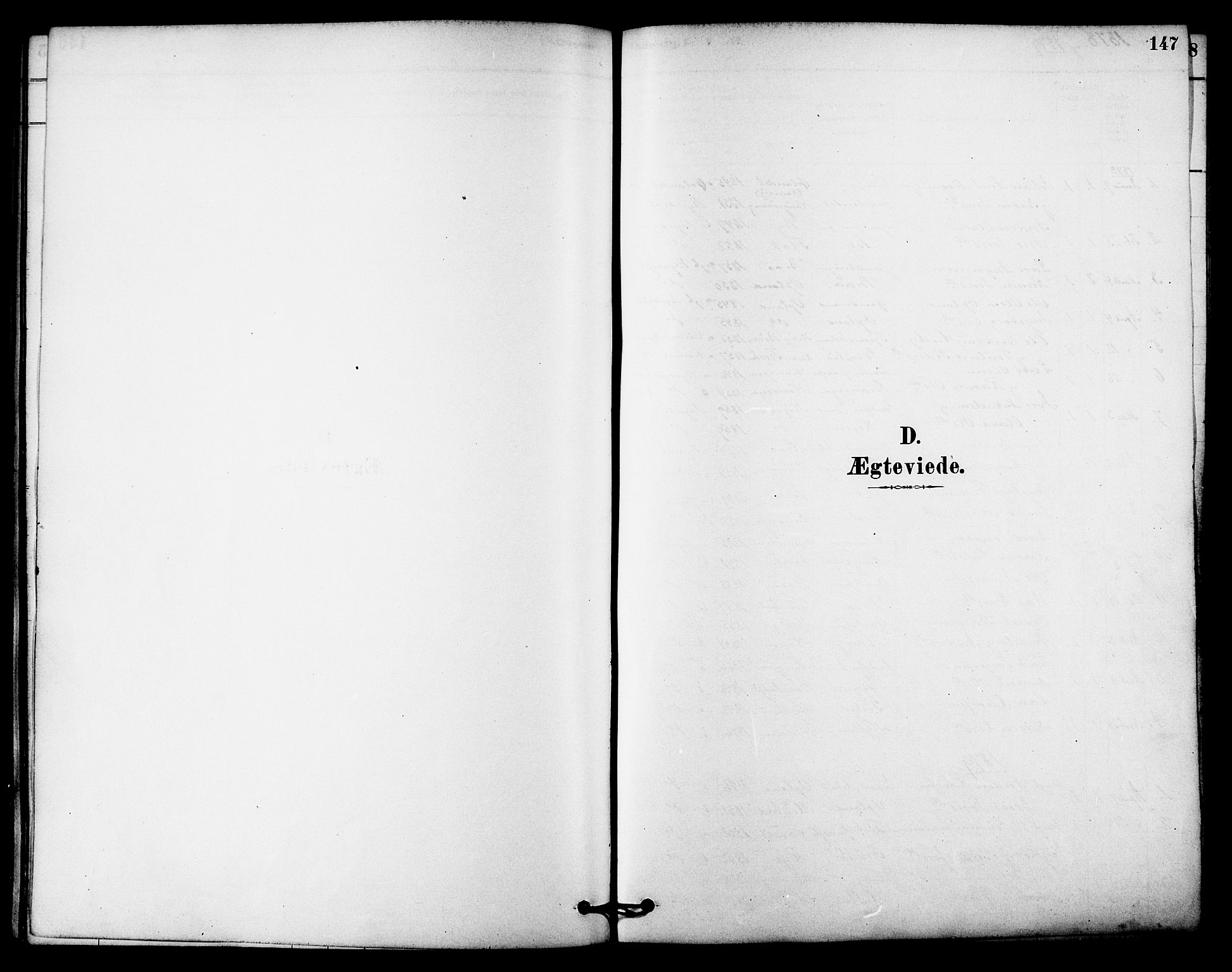 SAT, Ministerialprotokoller, klokkerbøker og fødselsregistre - Sør-Trøndelag, 612/L0378: Ministerialbok nr. 612A10, 1878-1897, s. 147