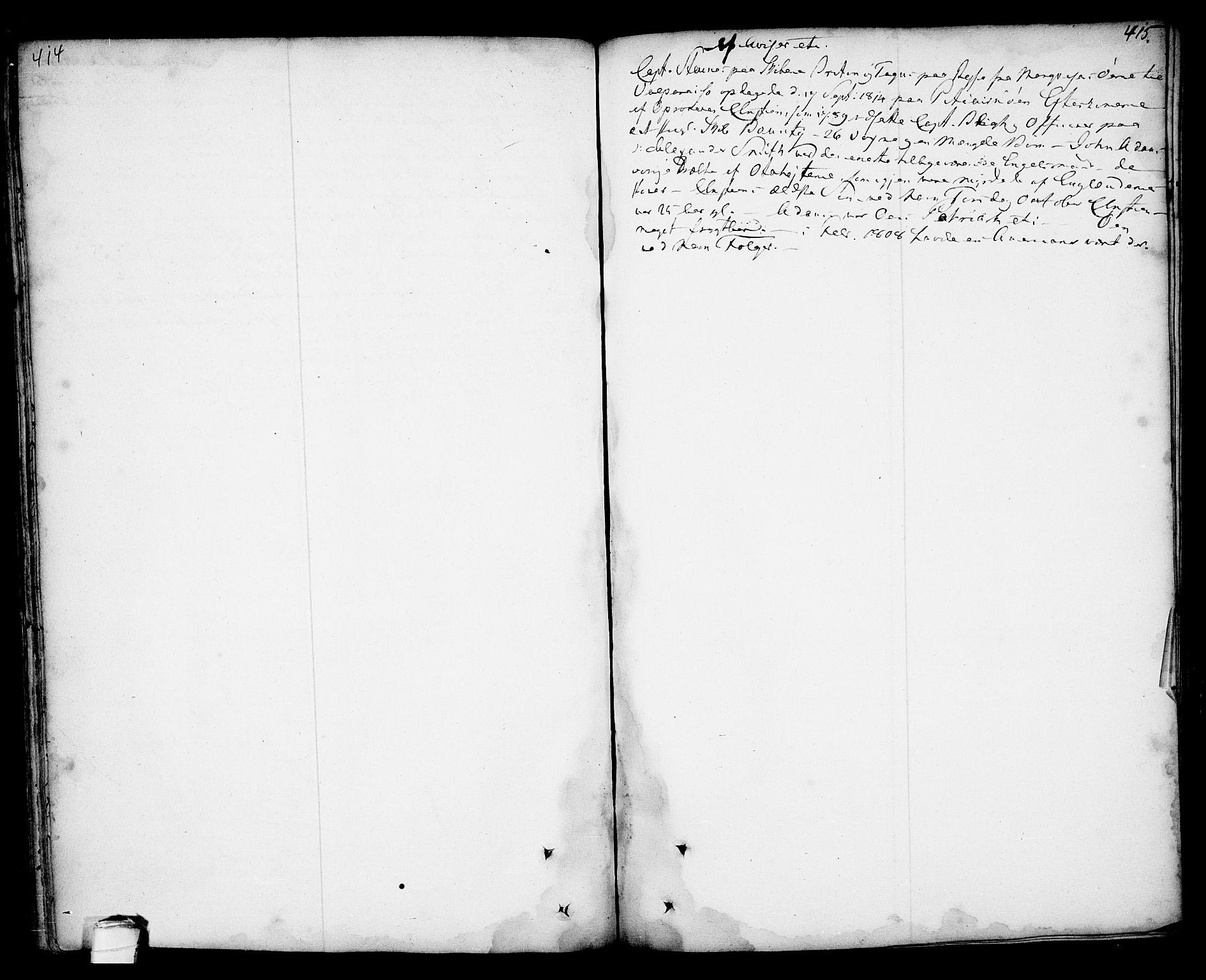 SAKO, Kragerø kirkebøker, F/Fa/L0001: Ministerialbok nr. 1, 1702-1766, s. 414-415