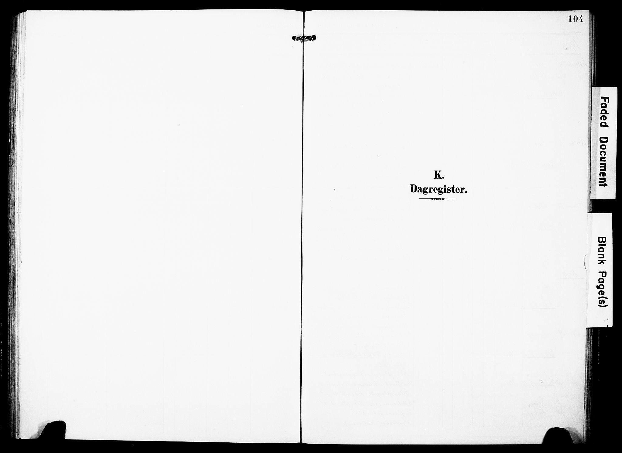 SAST, Torvastad sokneprestkontor, H/Ha/Haa/L0018: Ministerialbok nr. A 17, 1903-1925, s. 104