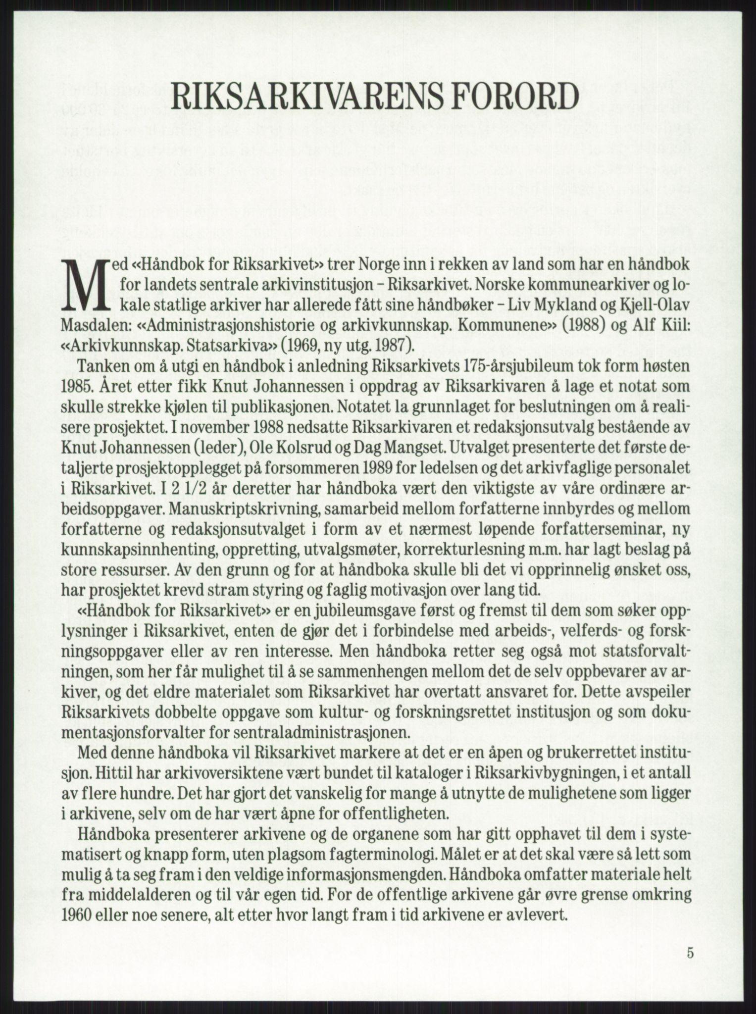RA, Publikasjoner*, 1974-1977, s. 5