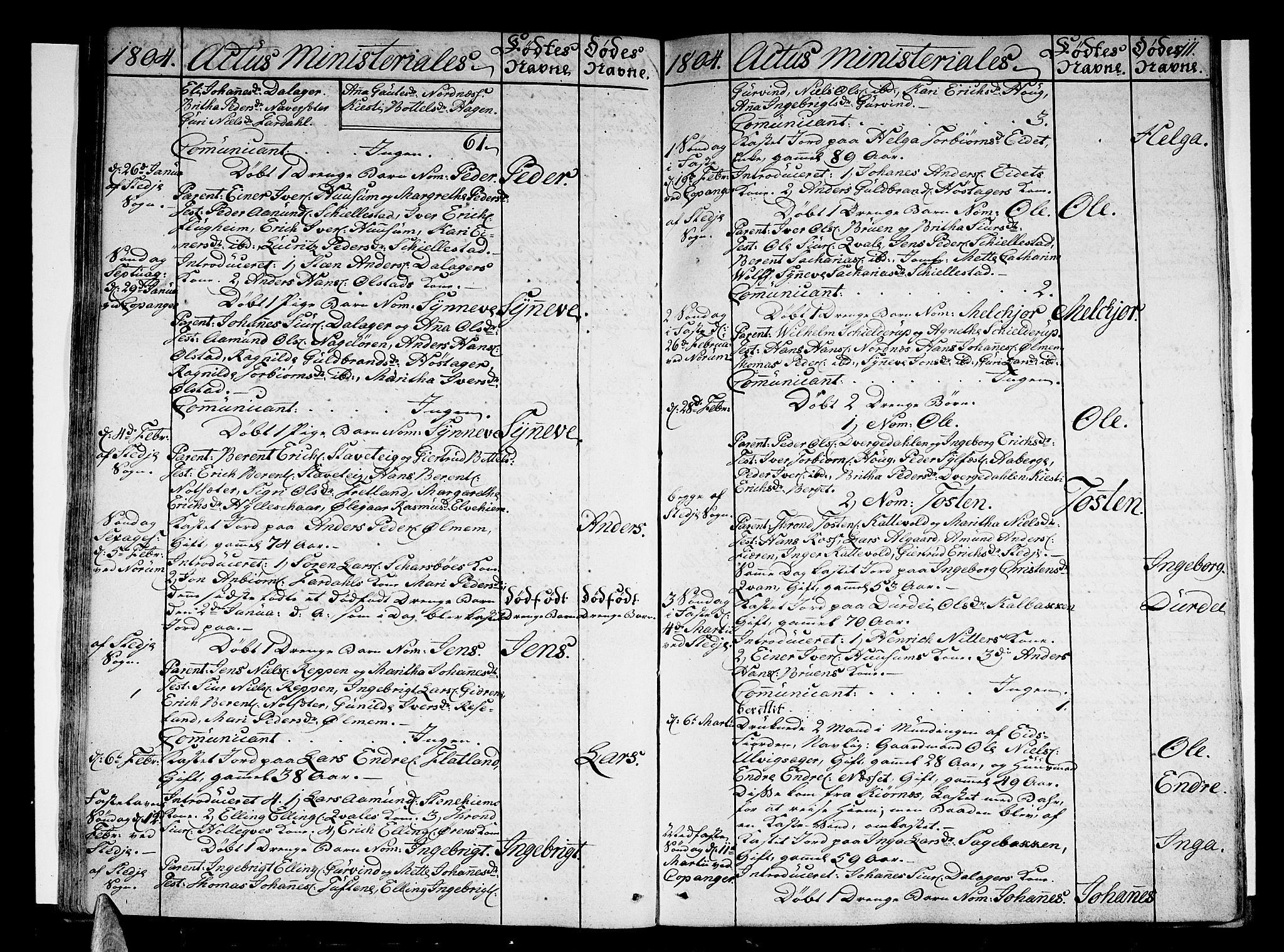 SAB, Sogndal sokneprestembete, H/Haa/Haaa/L0008: Ministerialbok nr. A 8, 1795-1809, s. 111
