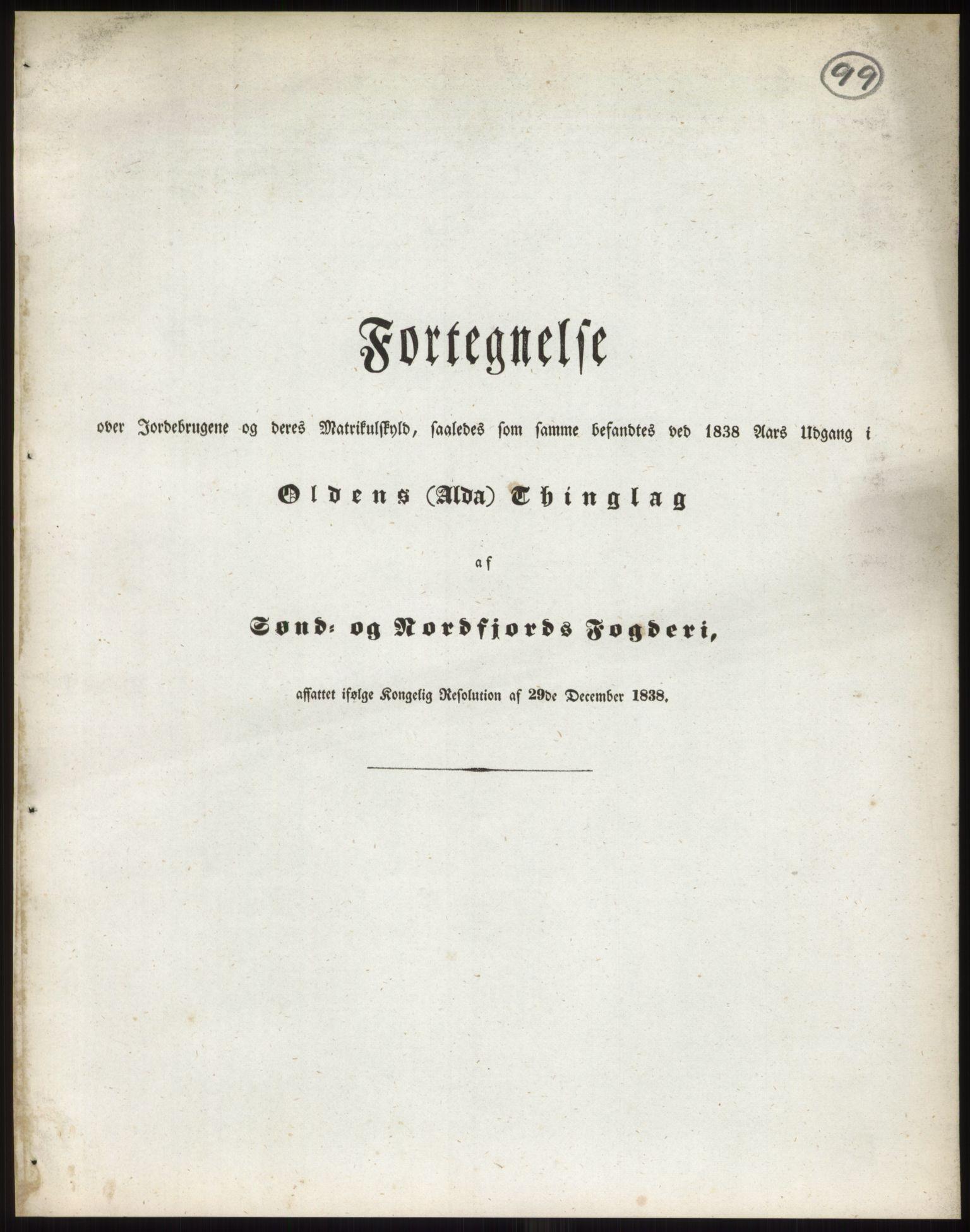 RA, 1838-matrikkelen (publikasjon)*, 1838, s. 99