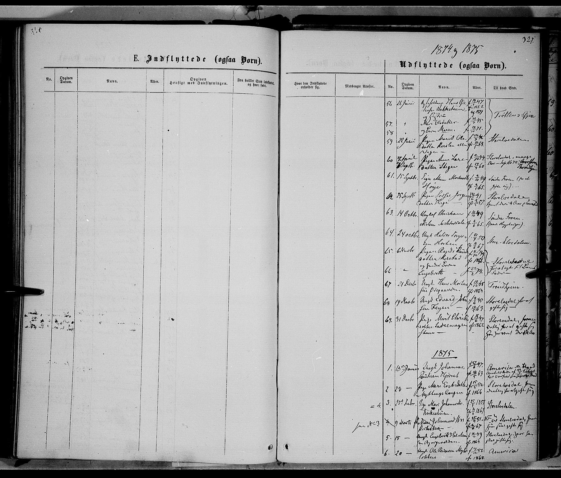 SAH, Ringebu prestekontor, Ministerialbok nr. 7, 1860-1877, s. 327