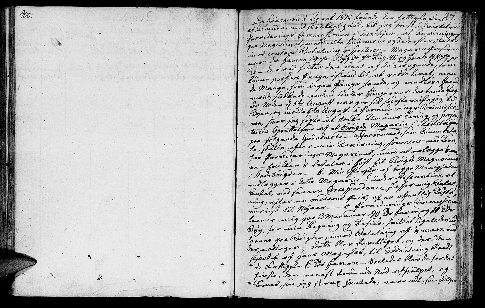 SAT, Ministerialprotokoller, klokkerbøker og fødselsregistre - Sør-Trøndelag, 646/L0606: Ministerialbok nr. 646A04, 1791-1805, s. 400-401