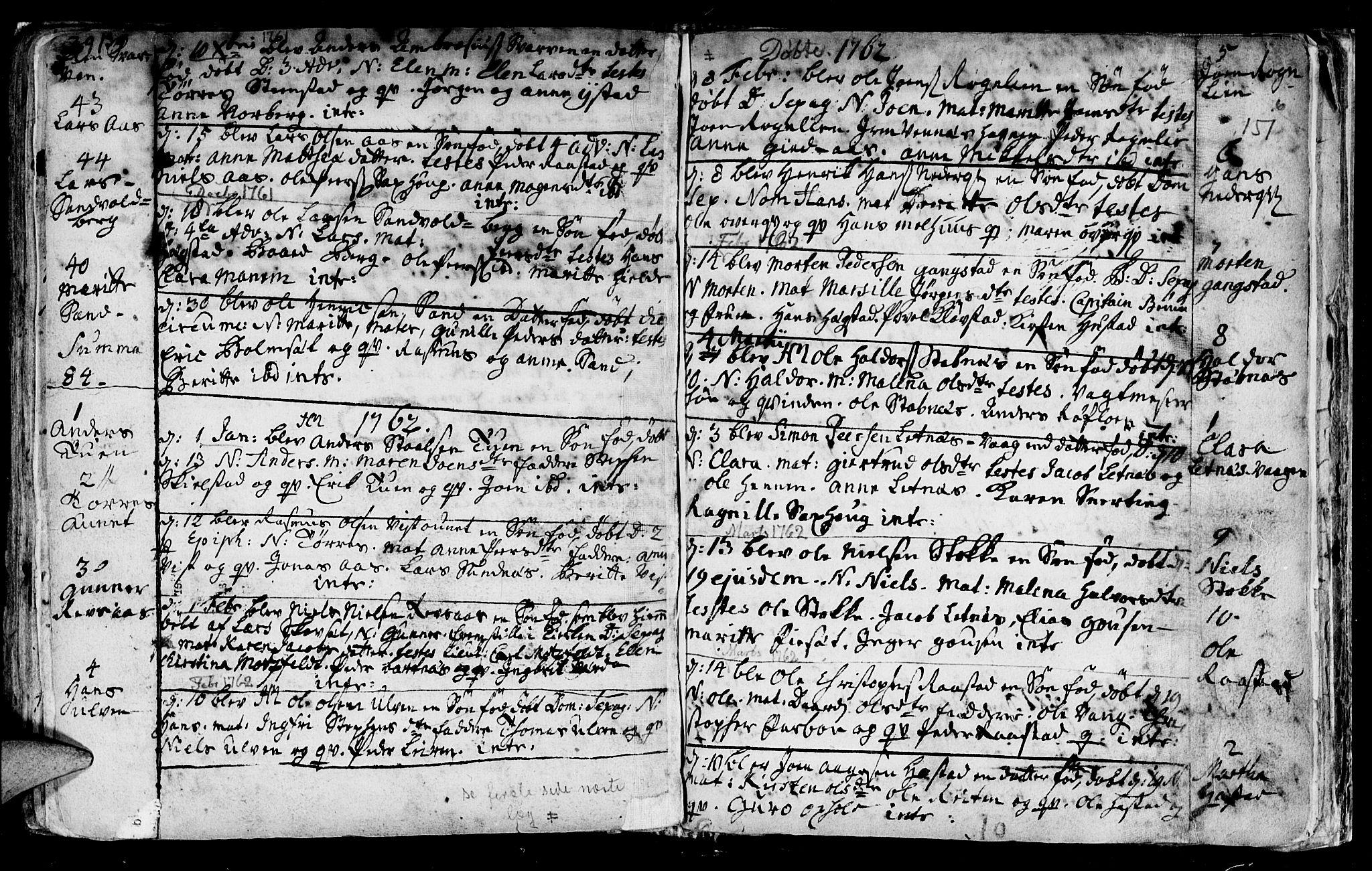 SAT, Ministerialprotokoller, klokkerbøker og fødselsregistre - Nord-Trøndelag, 730/L0272: Ministerialbok nr. 730A01, 1733-1764, s. 151