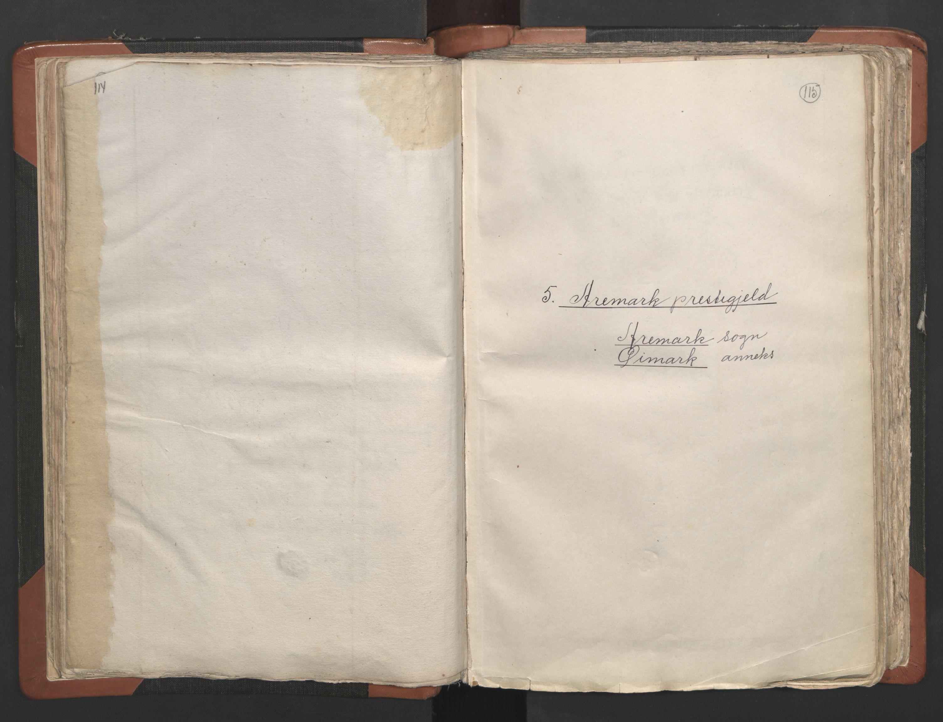 RA, Sogneprestenes manntall 1664-1666, nr. 2: Øvre Borgesyssel prosti, 1664-1666, s. 114-115