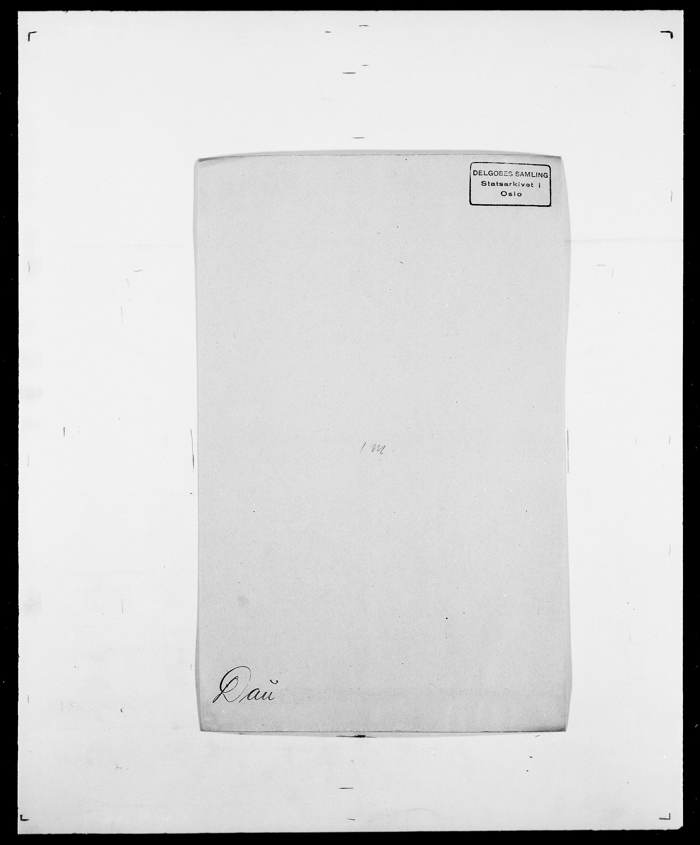SAO, Delgobe, Charles Antoine - samling, D/Da/L0009: Dahl - v. Düren, s. 364