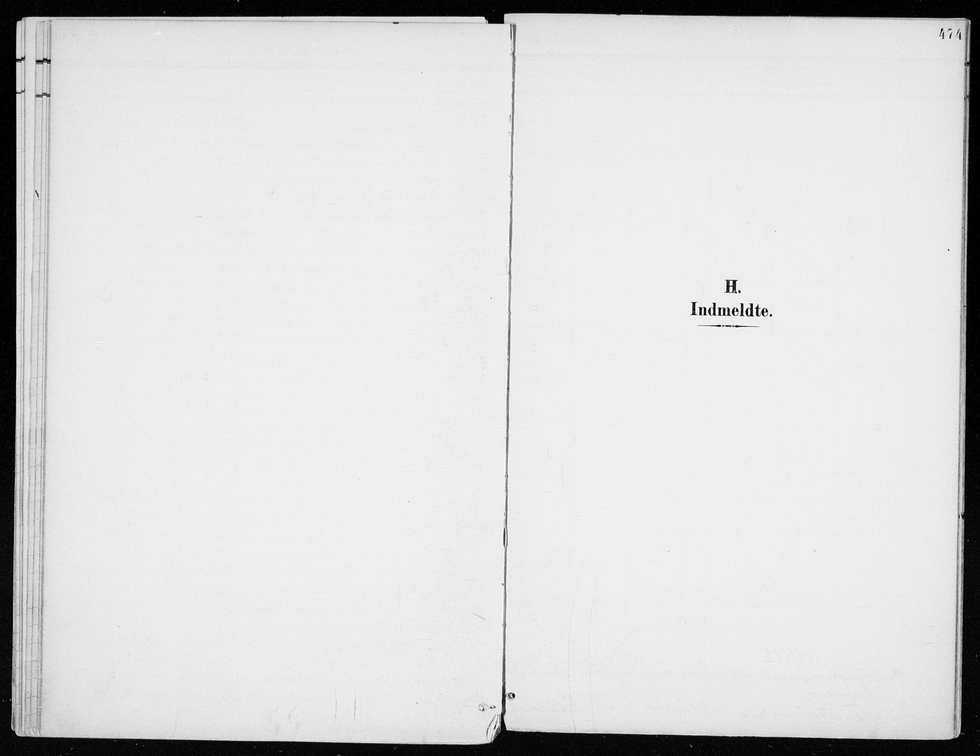 SAH, Vang prestekontor, Hedmark, H/Ha/Haa/L0021: Ministerialbok nr. 21, 1902-1917, s. 474