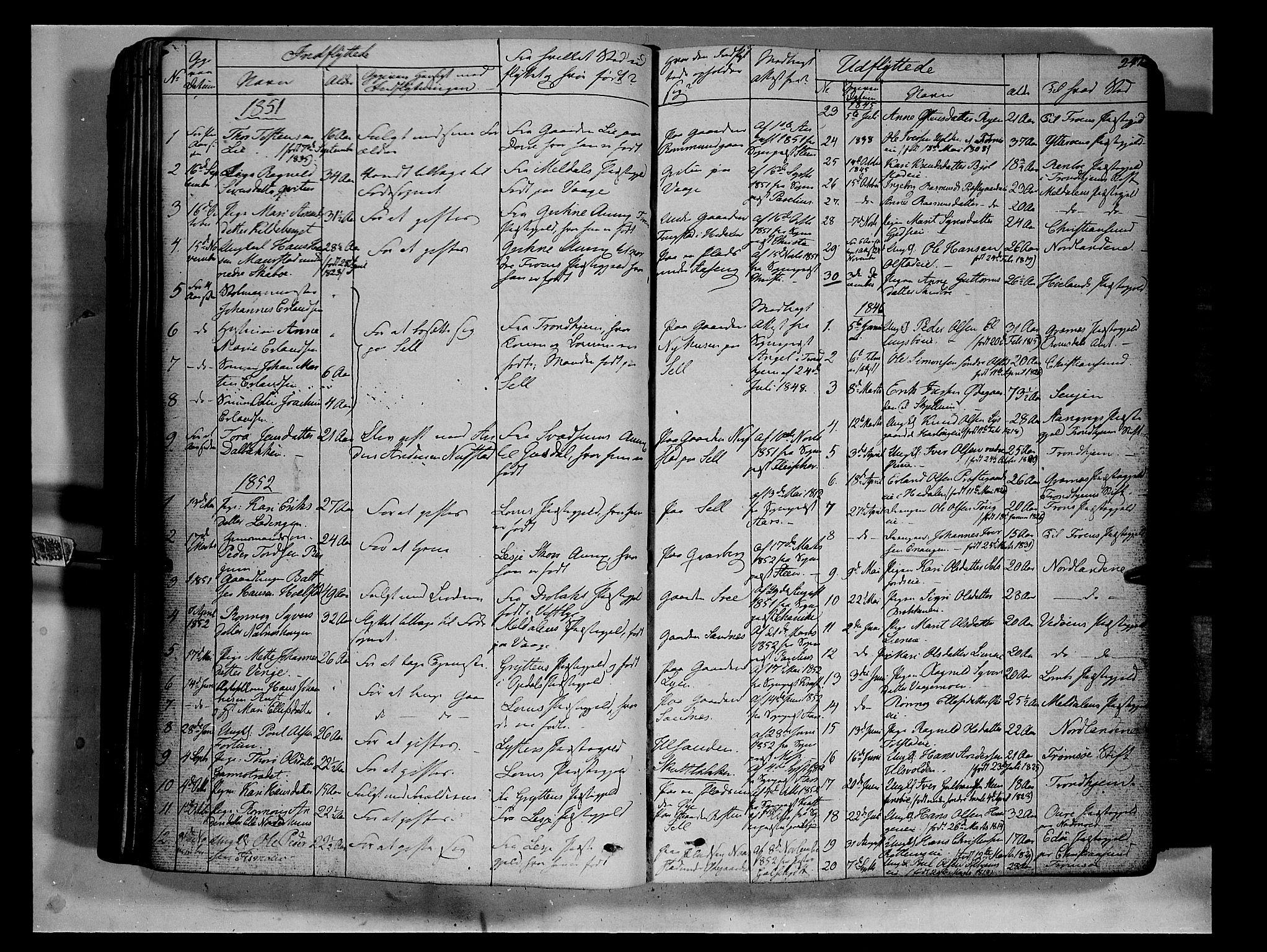 SAH, Vågå prestekontor, Ministerialbok nr. 5 /1, 1842-1856, s. 247