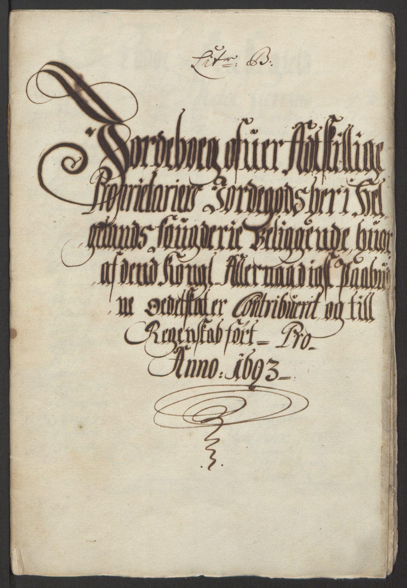 RA, Rentekammeret inntil 1814, Reviderte regnskaper, Fogderegnskap, R65/L4505: Fogderegnskap Helgeland, 1693-1696, s. 77