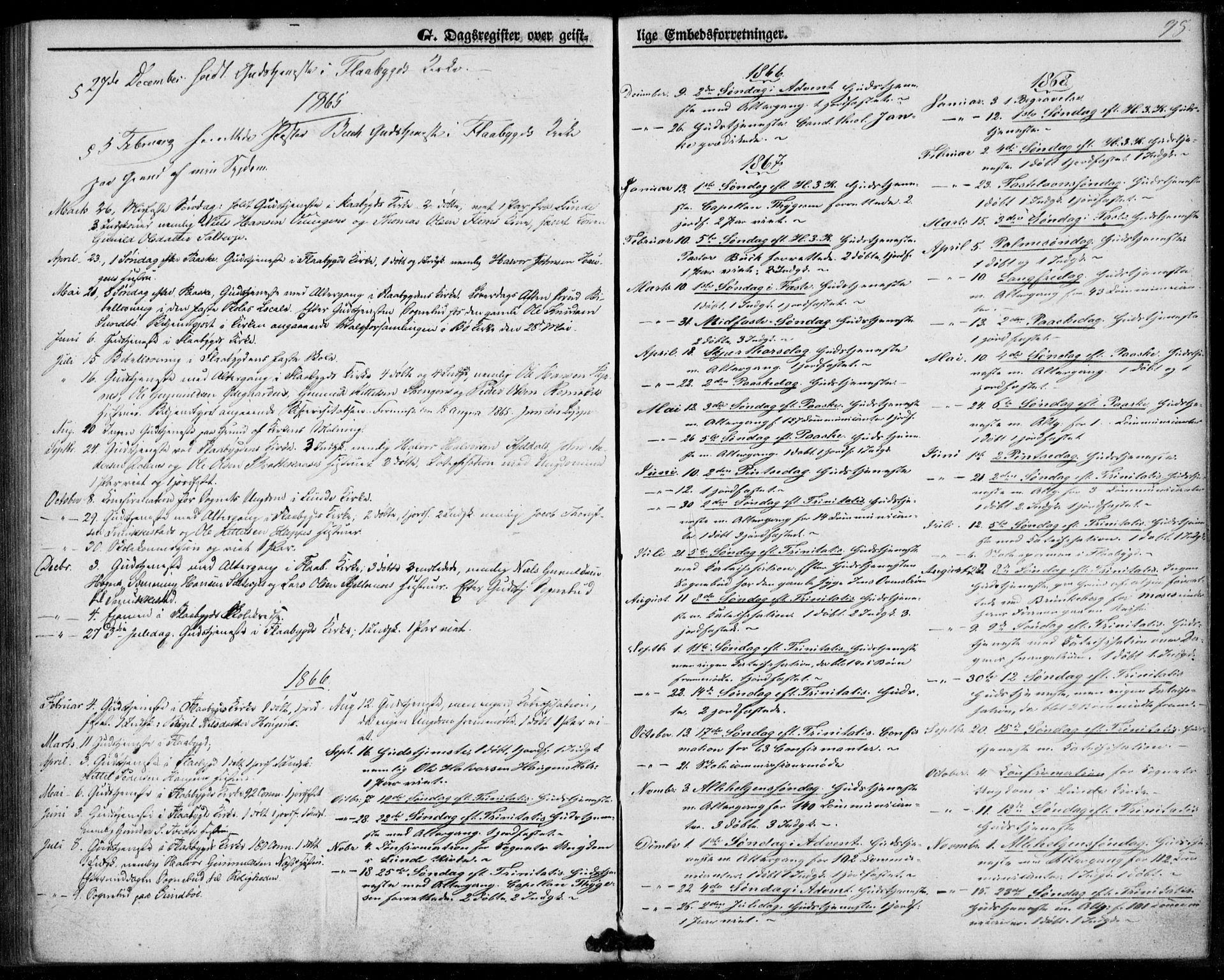 SAKO, Lunde kirkebøker, F/Fb/L0002: Ministerialbok nr. II 2, 1861-1881, s. 98