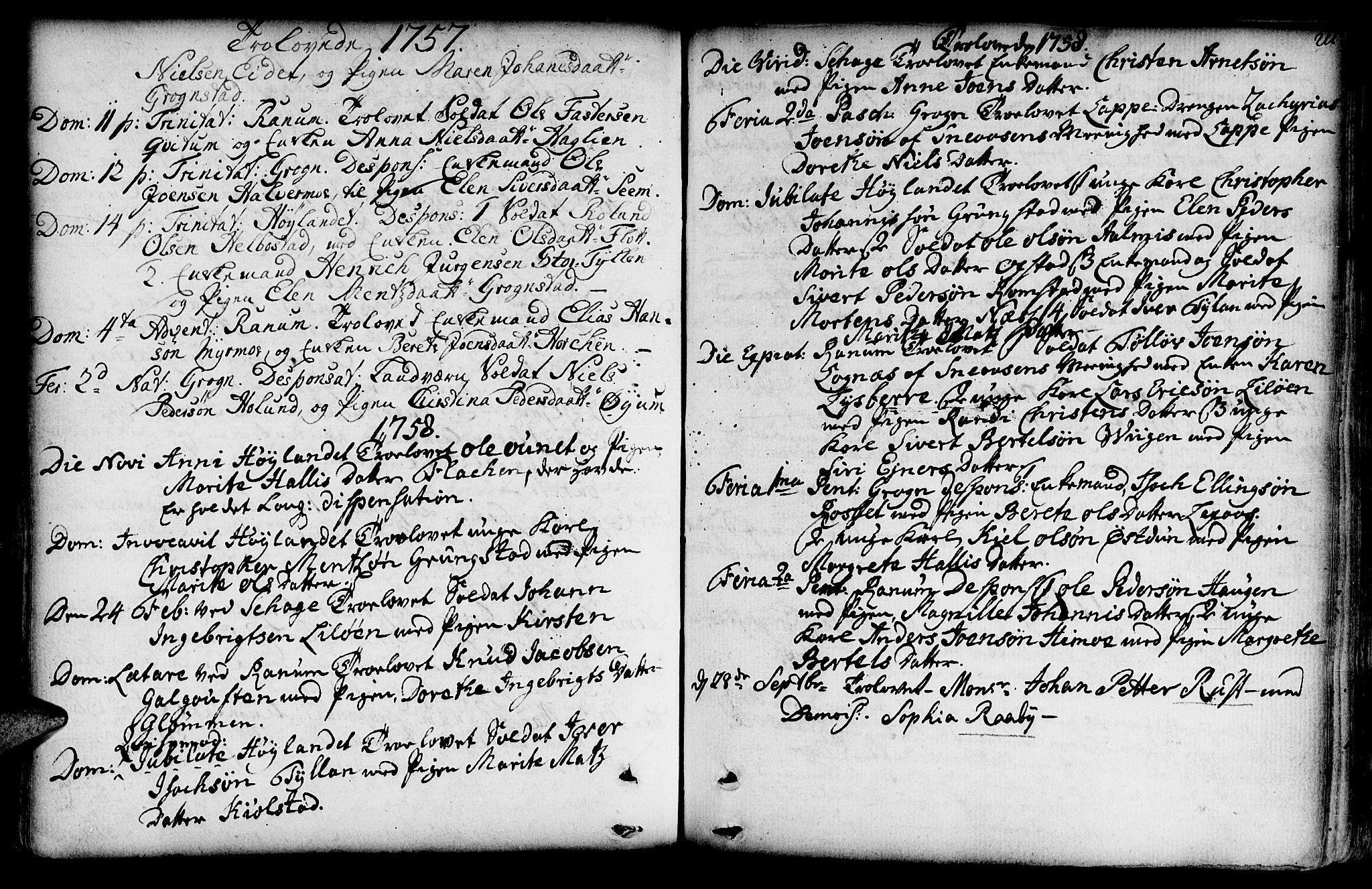 SAT, Ministerialprotokoller, klokkerbøker og fødselsregistre - Nord-Trøndelag, 764/L0542: Ministerialbok nr. 764A02, 1748-1779, s. 211