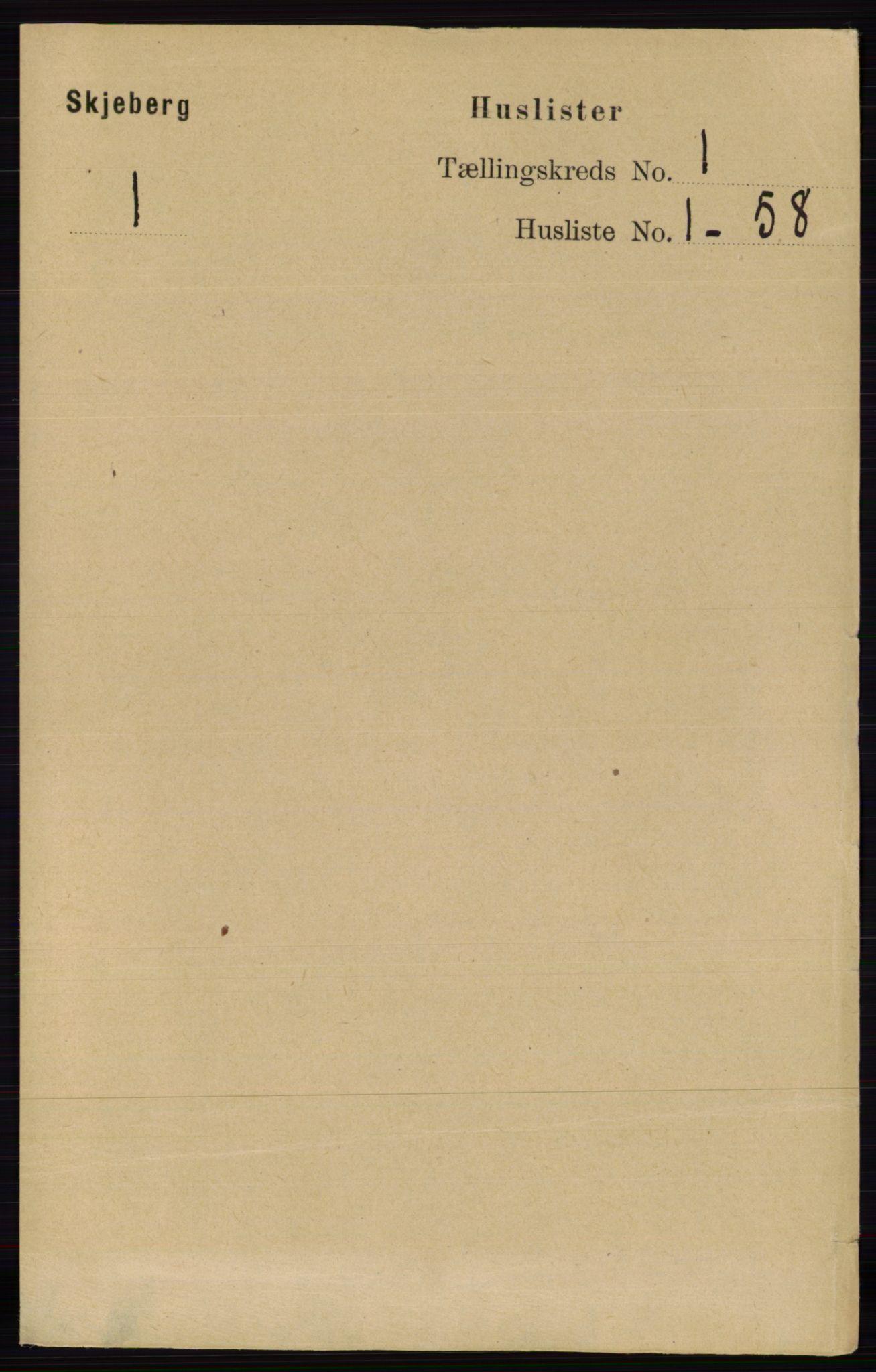 RA, Folketelling 1891 for 0115 Skjeberg herred, 1891, s. 26