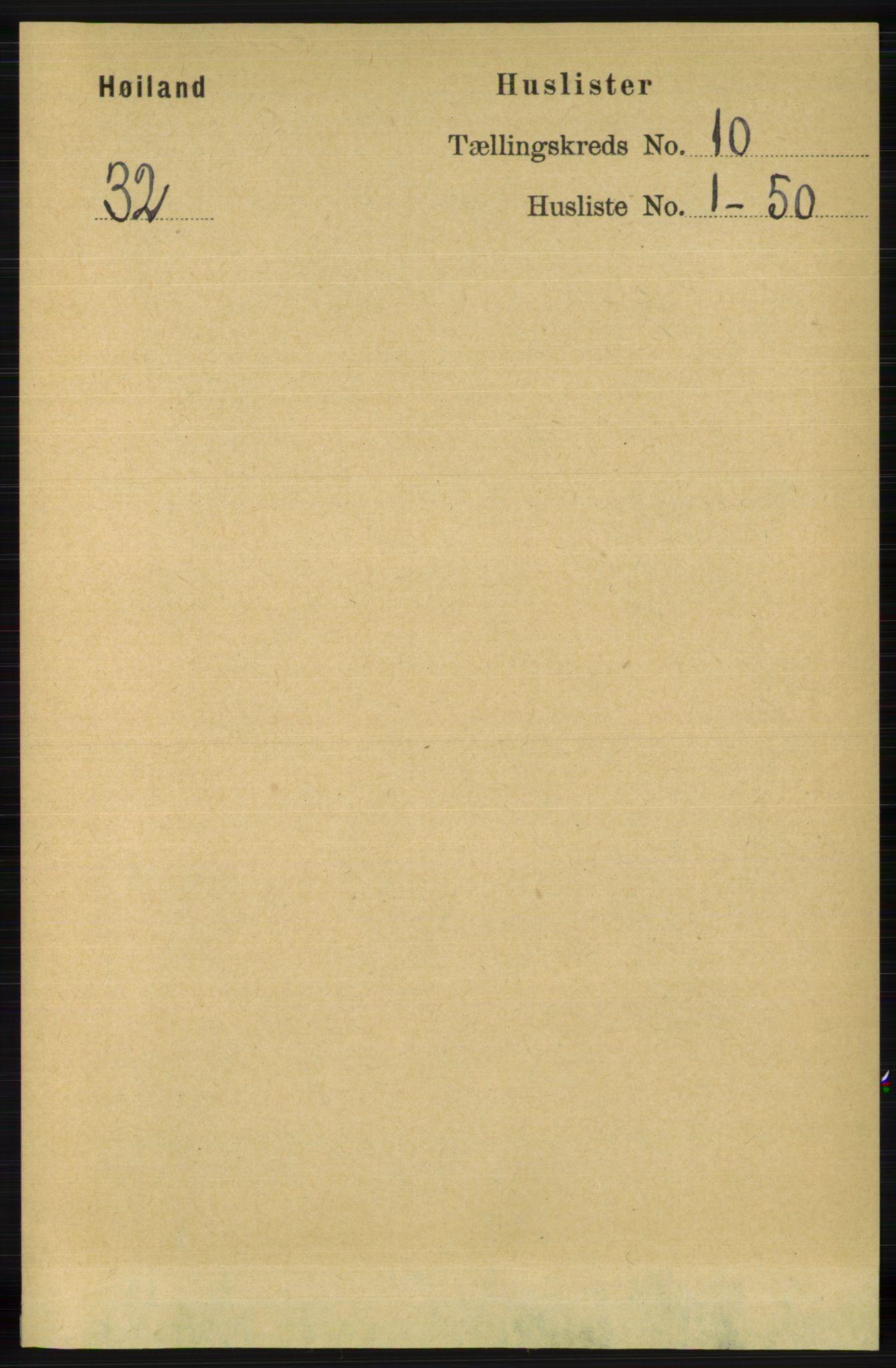 RA, Folketelling 1891 for 1123 Høyland herred, 1891, s. 4048