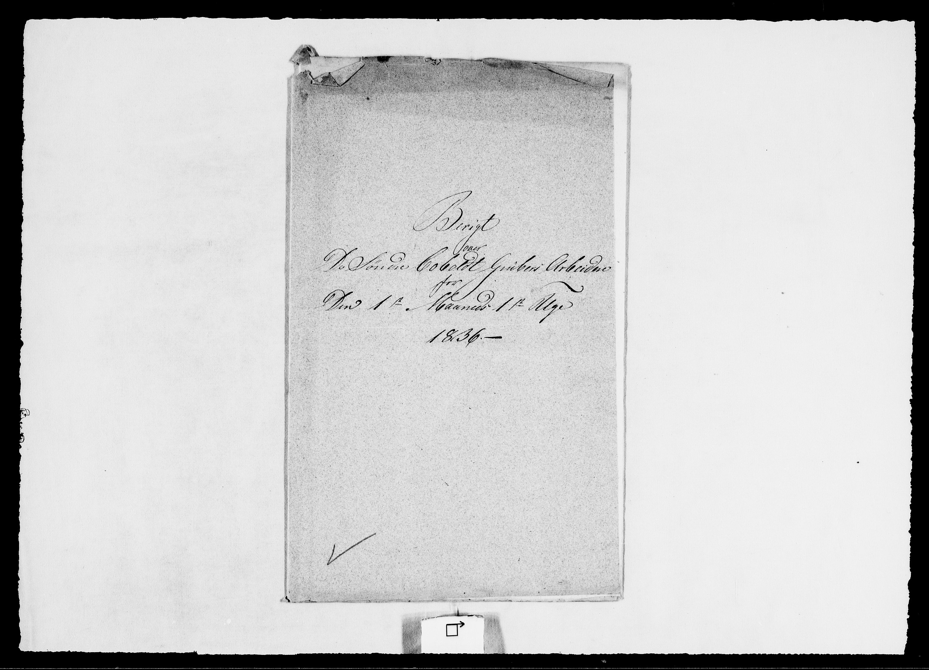 RA, Modums Blaafarveværk, G/Ge/L0349, 1836, s. 2